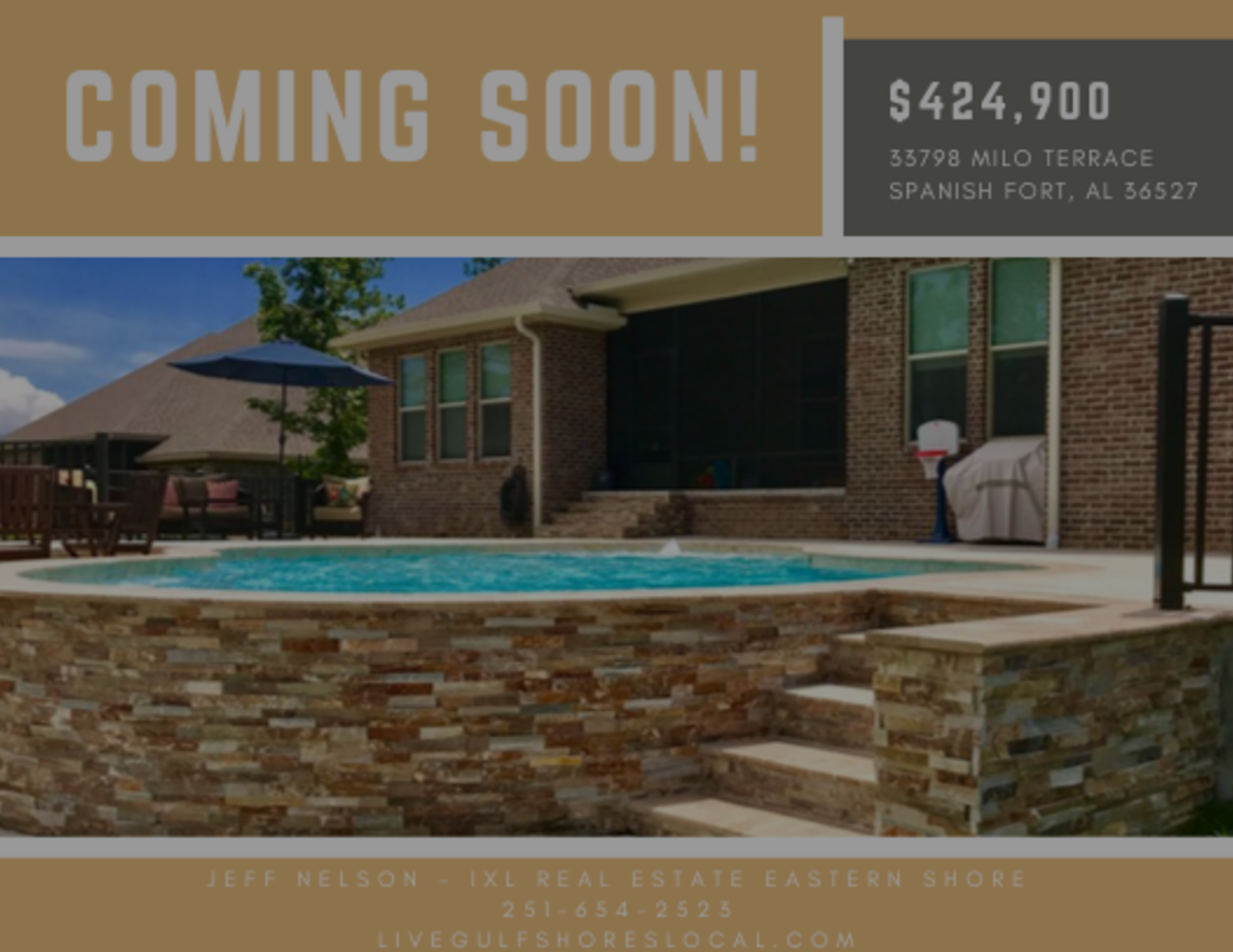 Coming Soon – Home for Sale in Spanish Fort