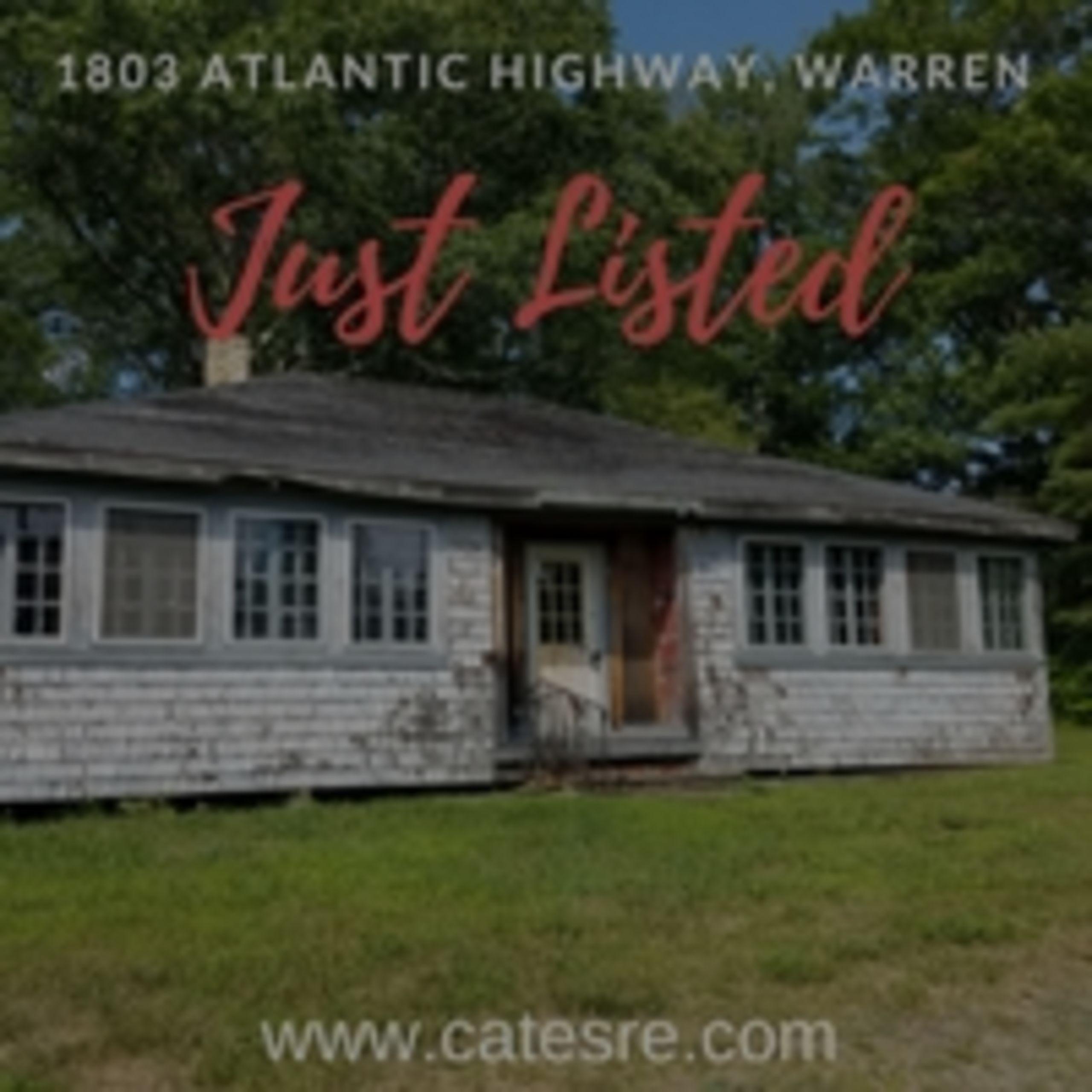 1803 Atlantic Highway, Warren: Fixer Upper