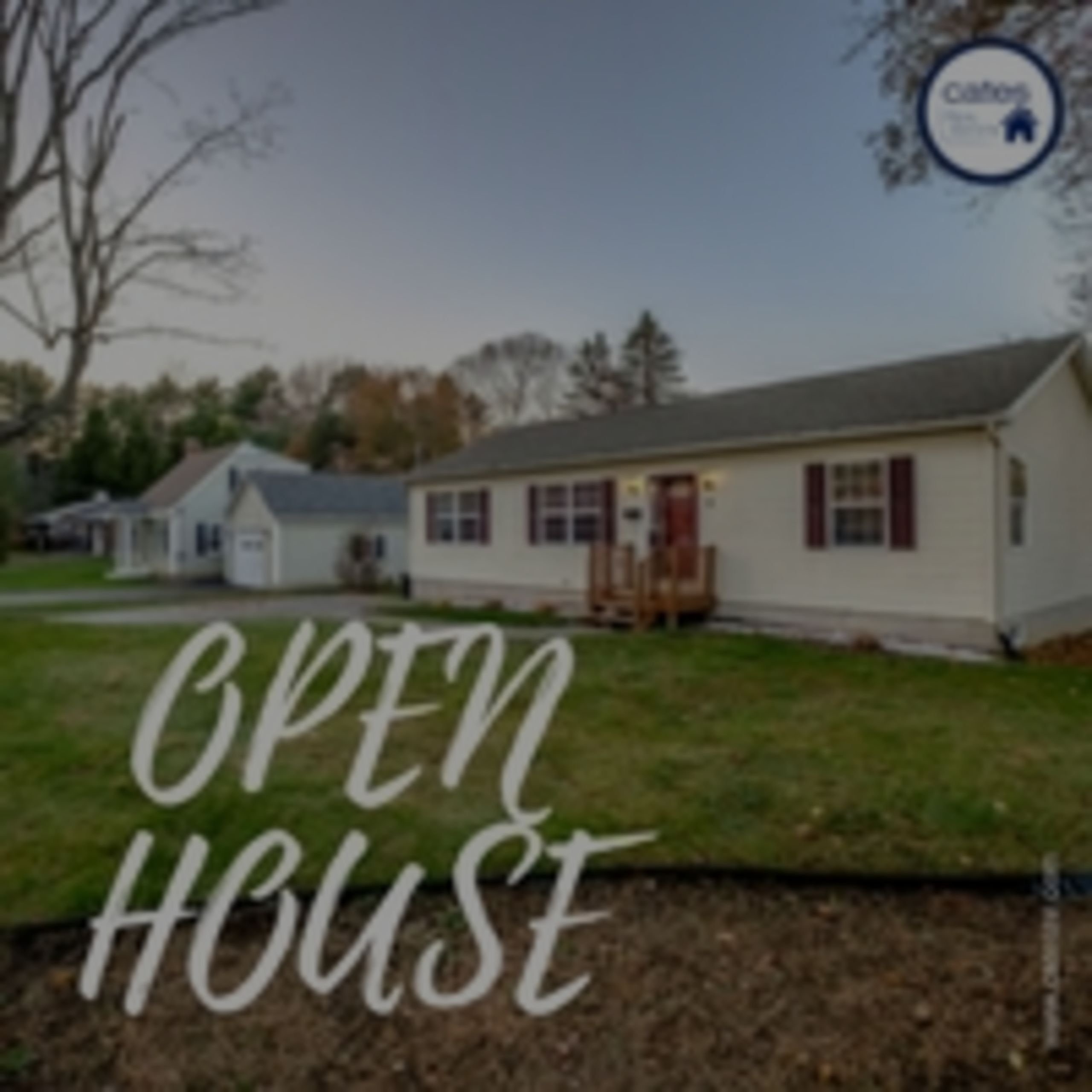 OPEN HOUSE: Sunday December 3 2017