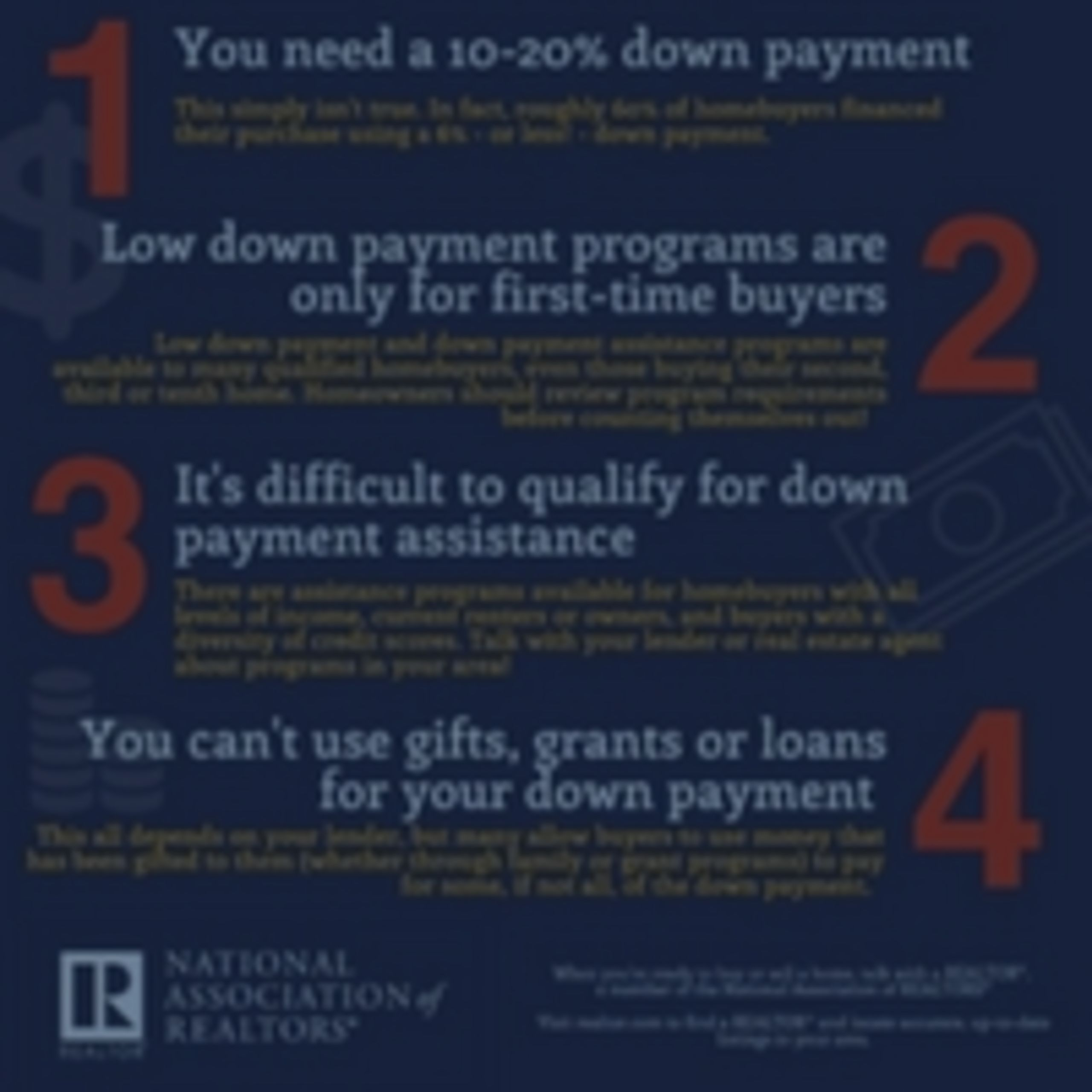Down Payments Debunked