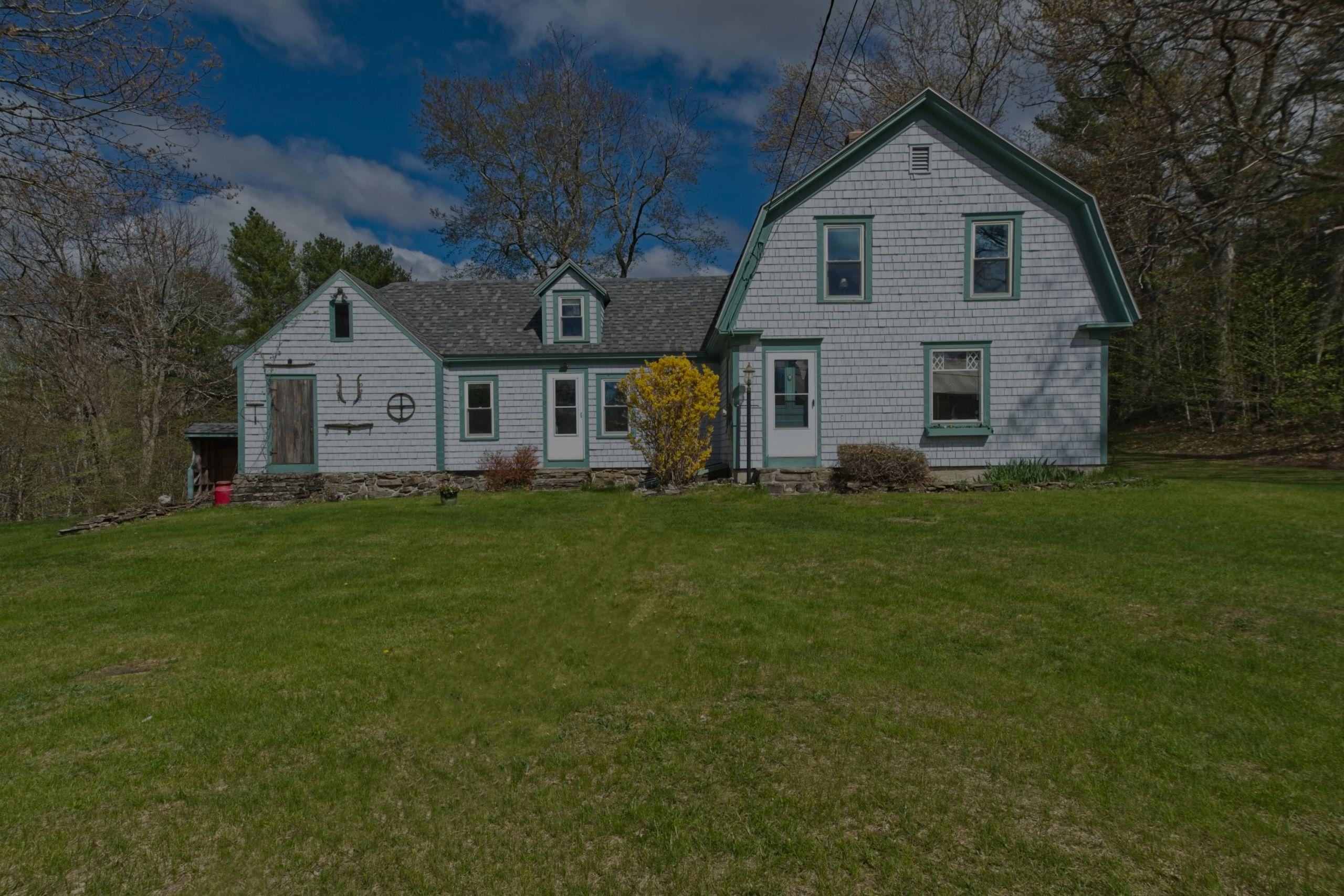 600 Guinea Ridge Road, Appleton, Maine; Large barn located across the lane