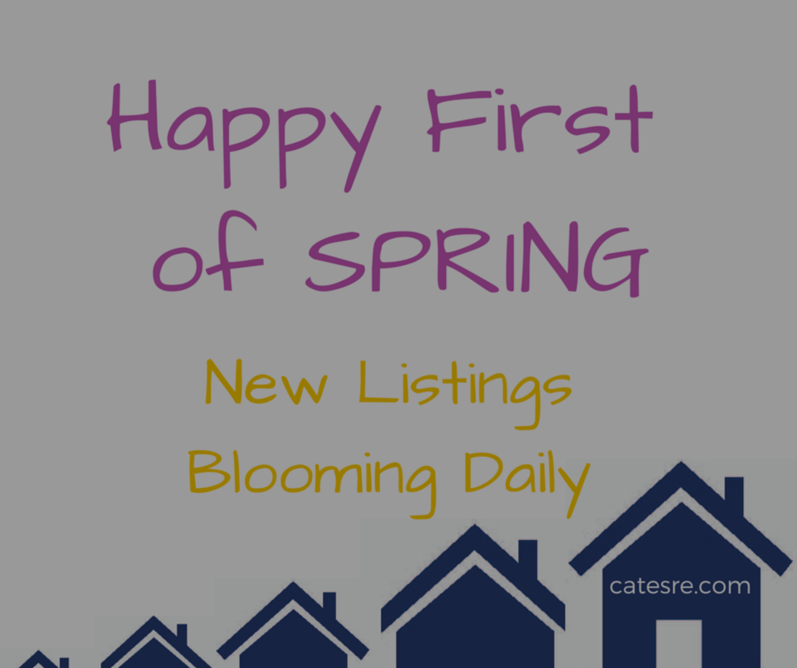 First of Spring: New Listings Blooming Daily