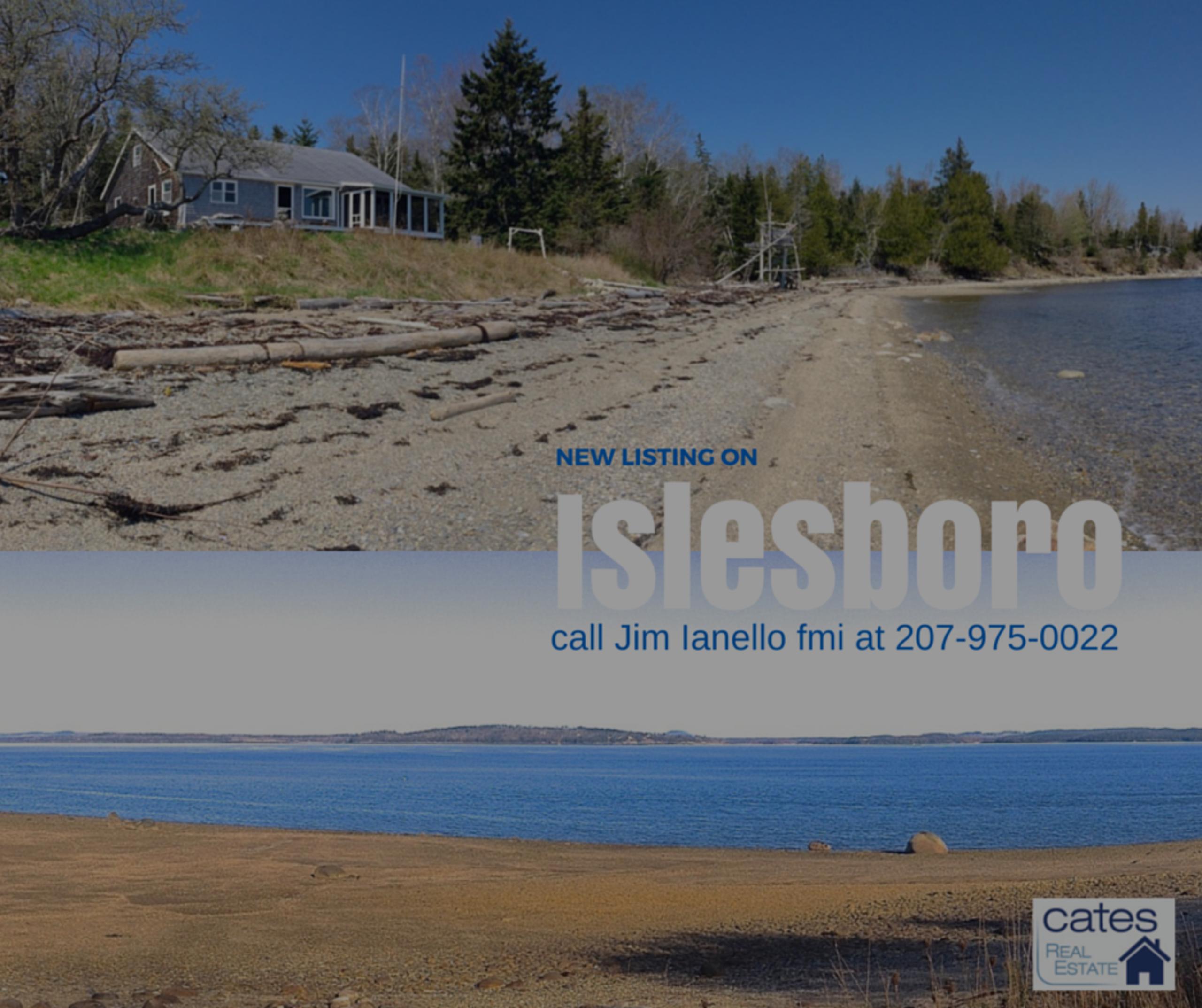 New Listing: Islesboro Cottage
