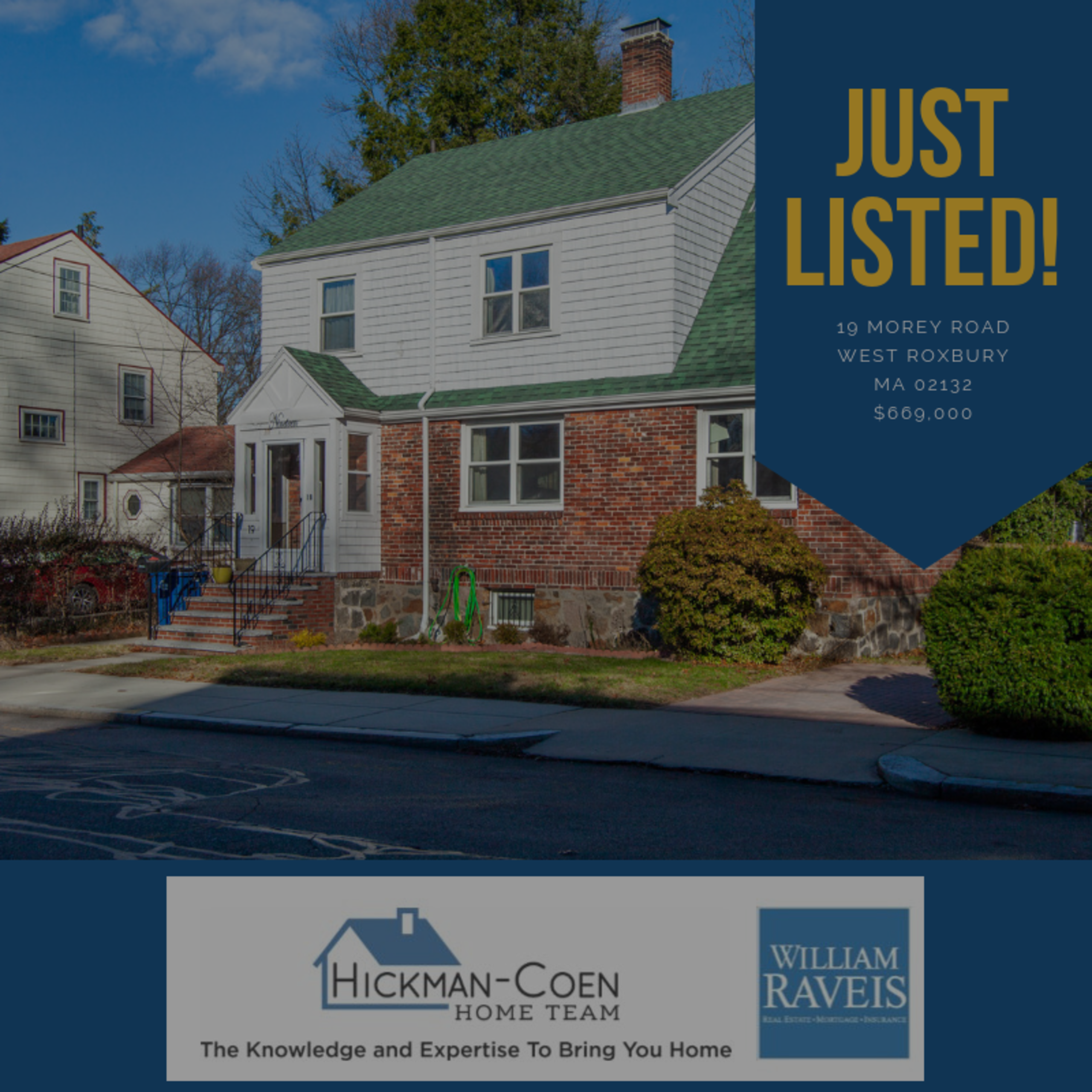 Just Listed 19 Morey Road, West Roxbury – Video Tour!
