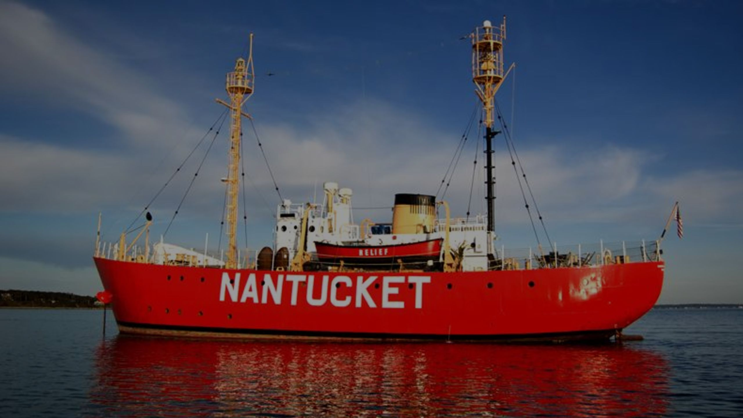 That red Nantucket ship in Boston Harbor? You can live there for $5.2M