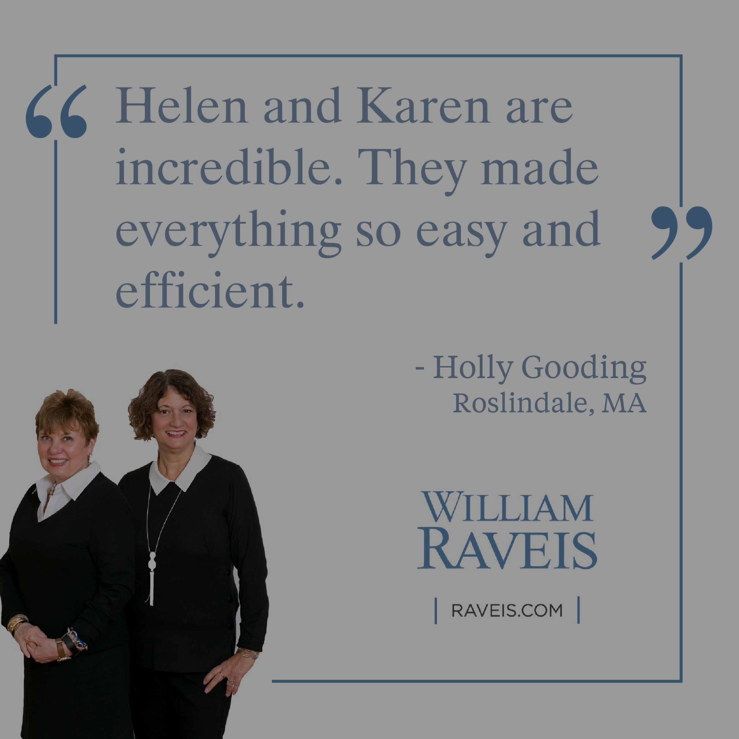 Client Testimonial from Holly Gooding