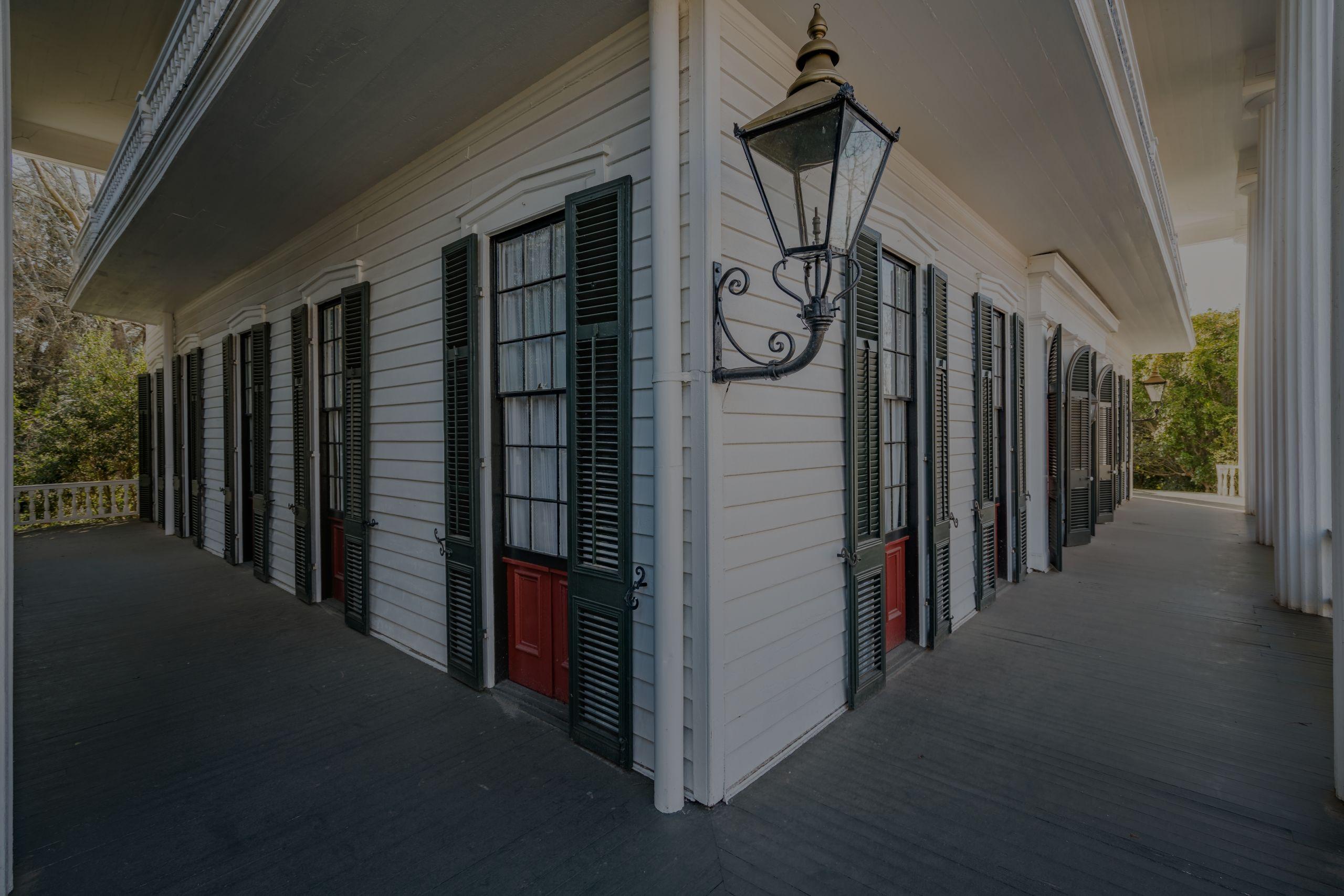 The Campbell-Jordan House | Stunning Greek Revival