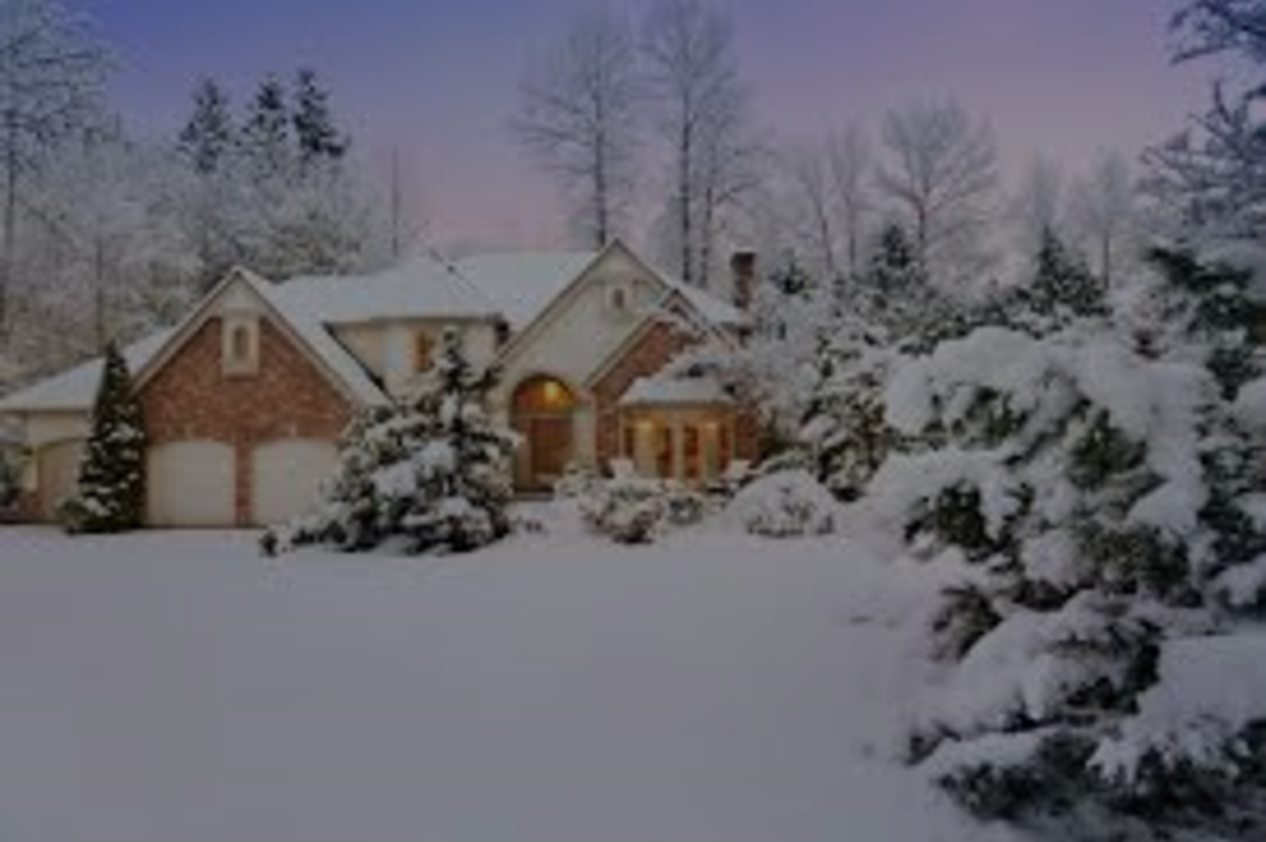 Winterize Your Home Checklist