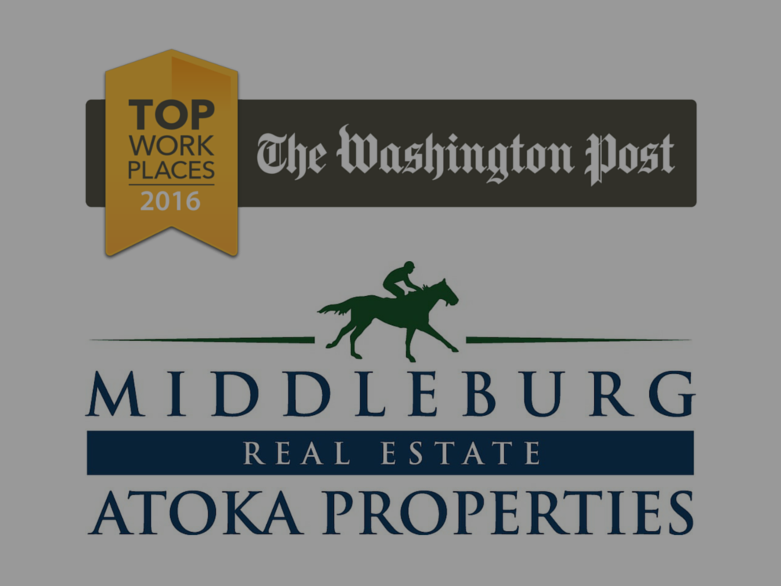 Middleburg Real Estate | Atoka Properties Named 2016 'Top Place to Work' By The Washington Post