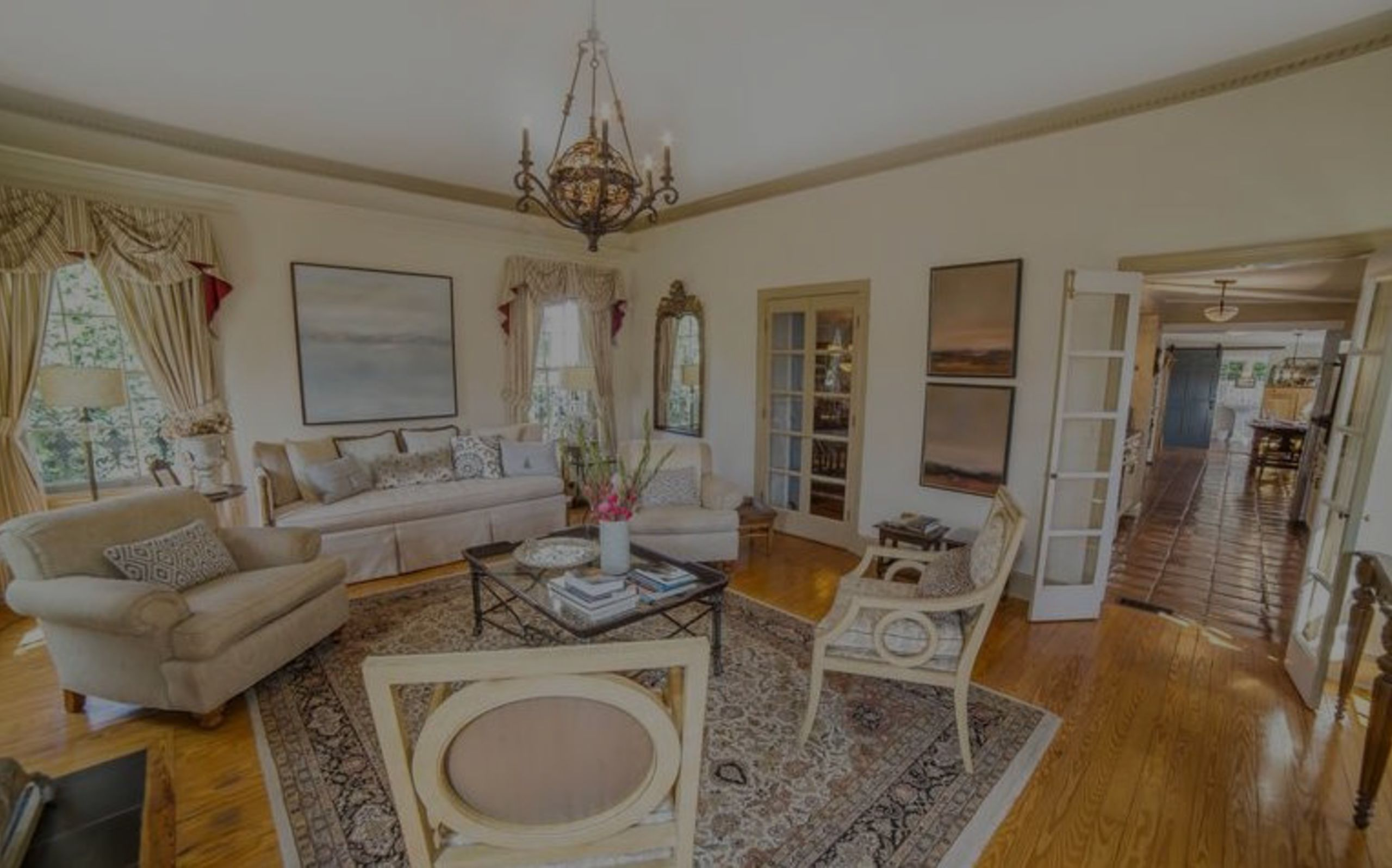 Just Listed in Aldie-C. 1803 Restored Home & 128 Acres of Land