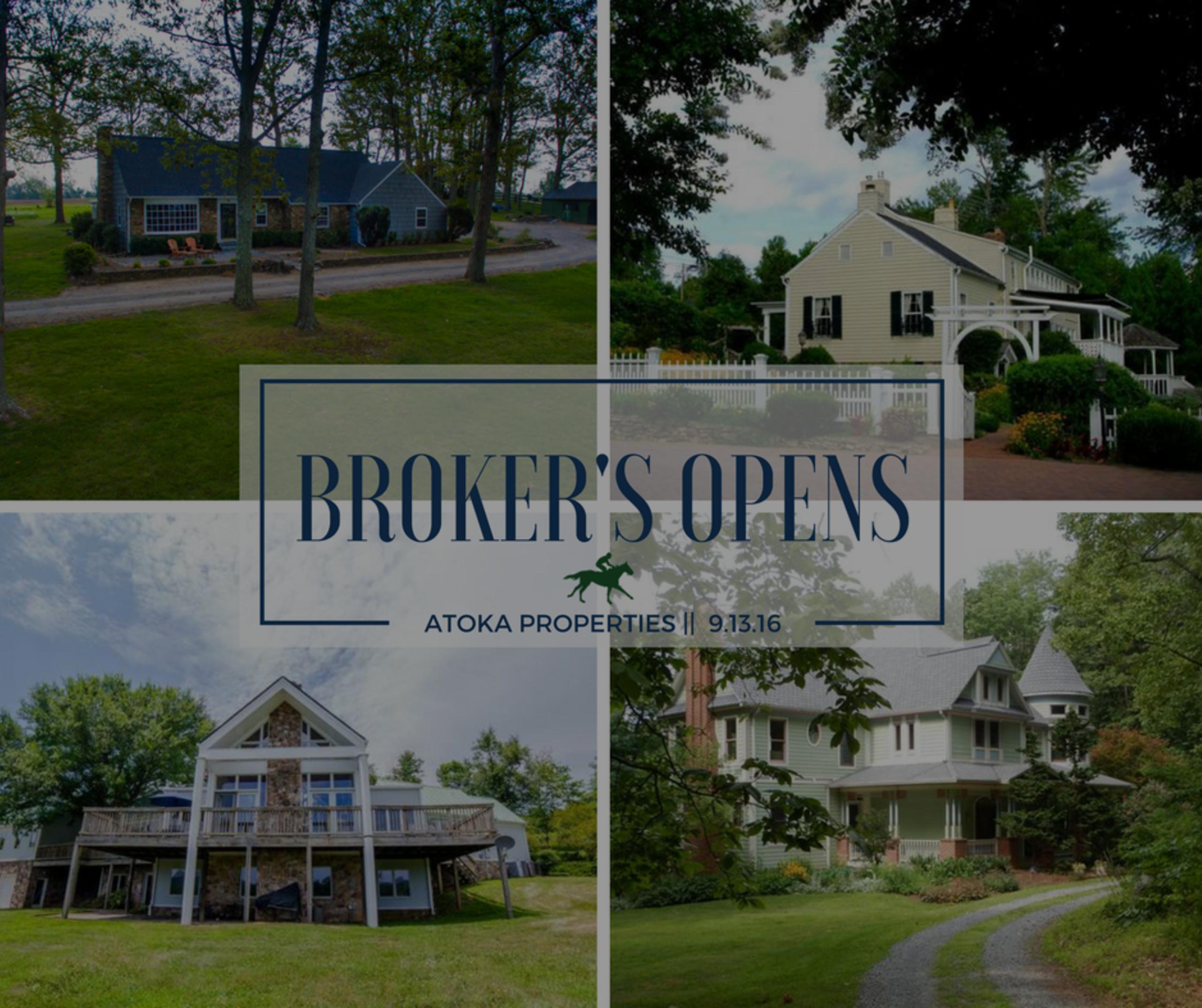 Broker's Opens | 9.13.16
