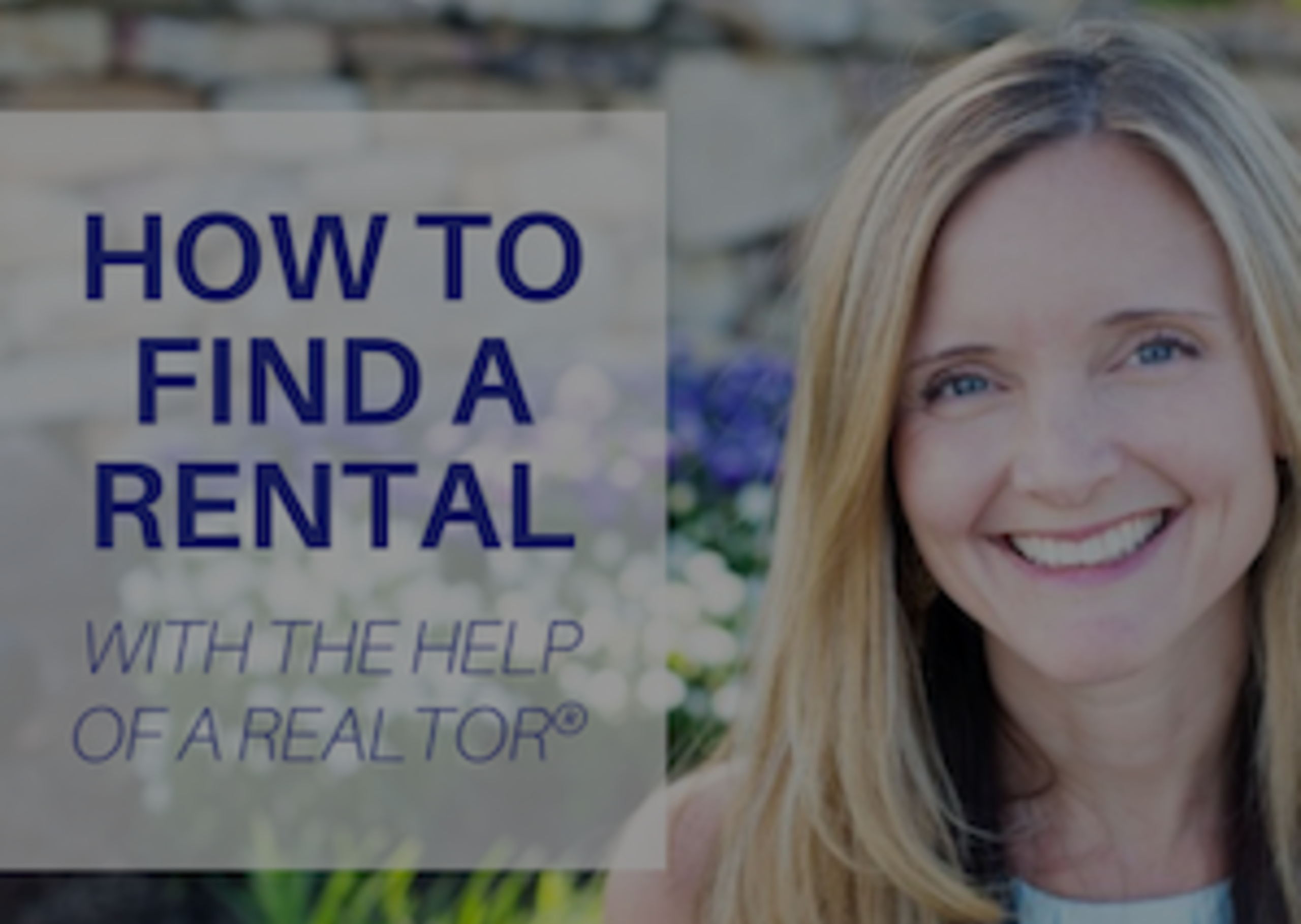 How to Find a Rental with the Help of a Realtor