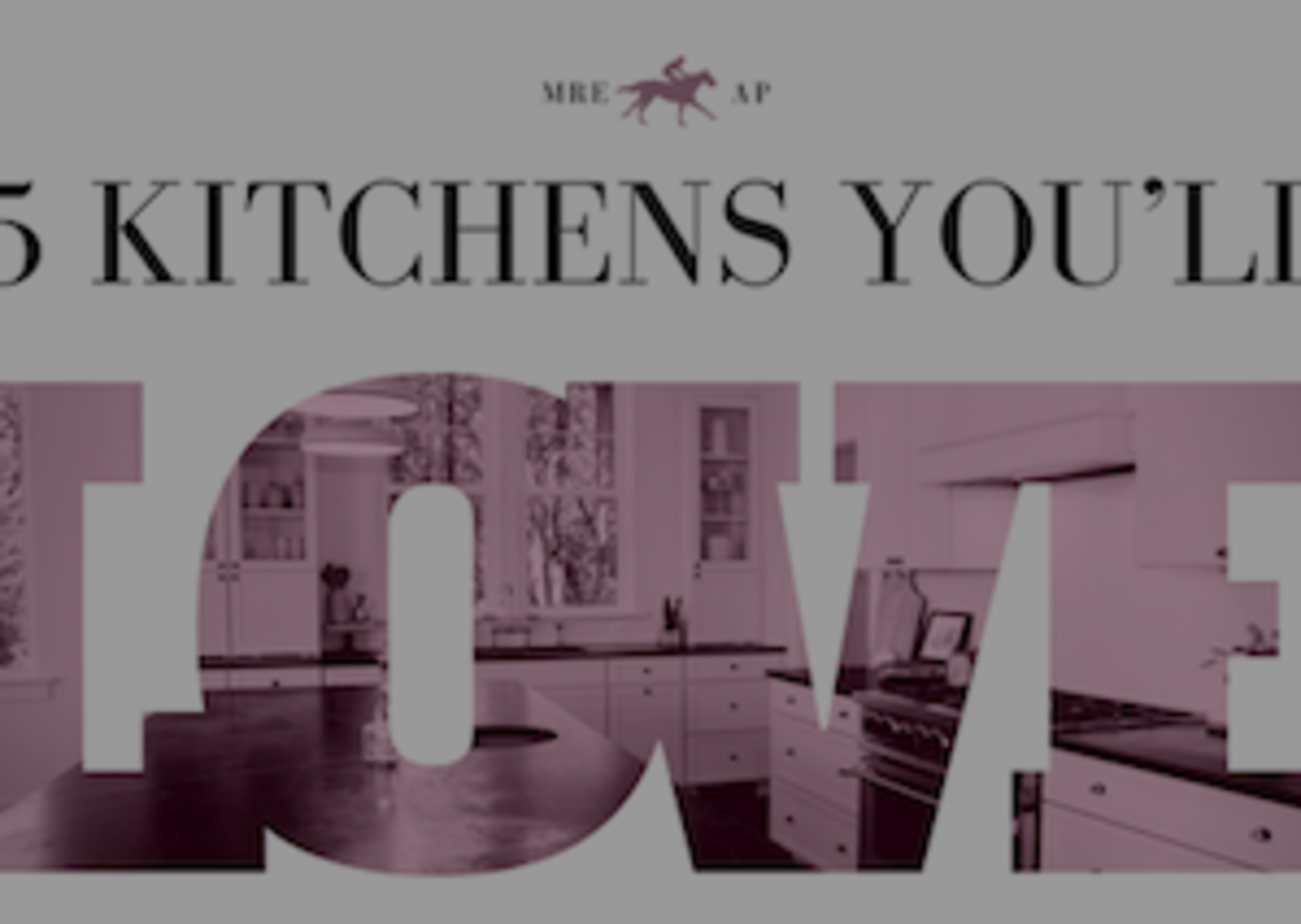 5 Kitchens You'll Love