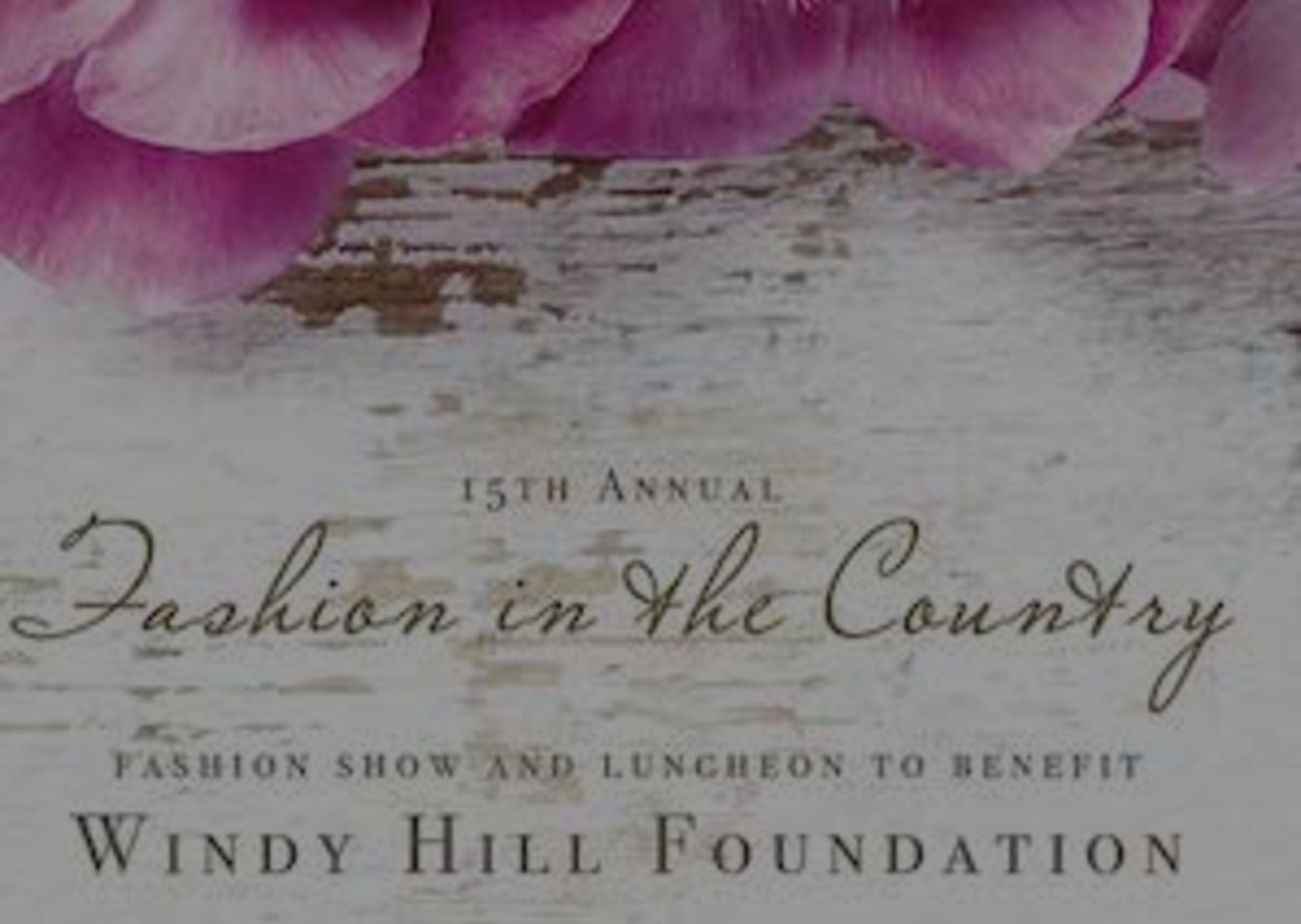GET LOCAL | 15th Annual Windy Hill Fashion Show
