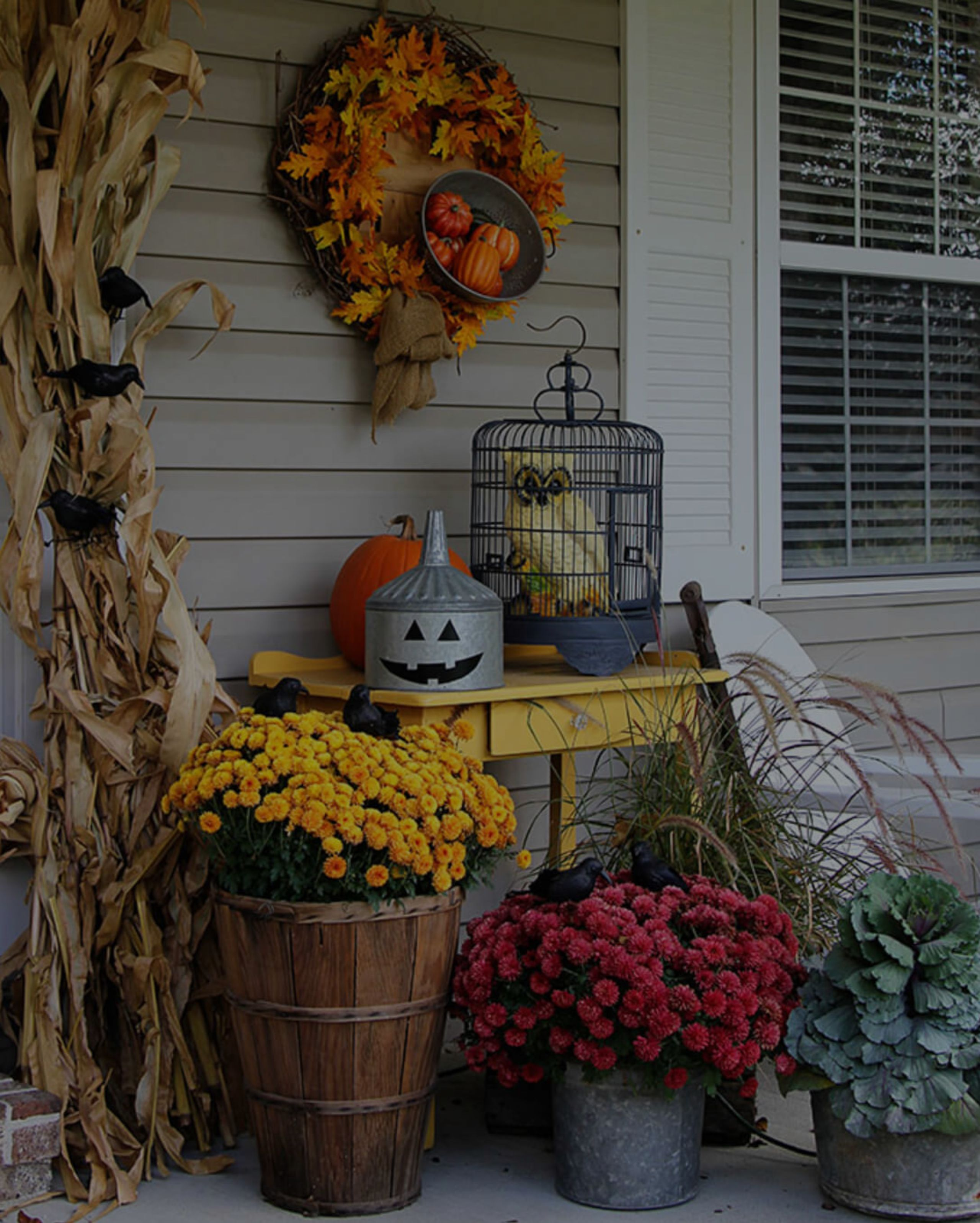 Front Porch Living, Autumn Style