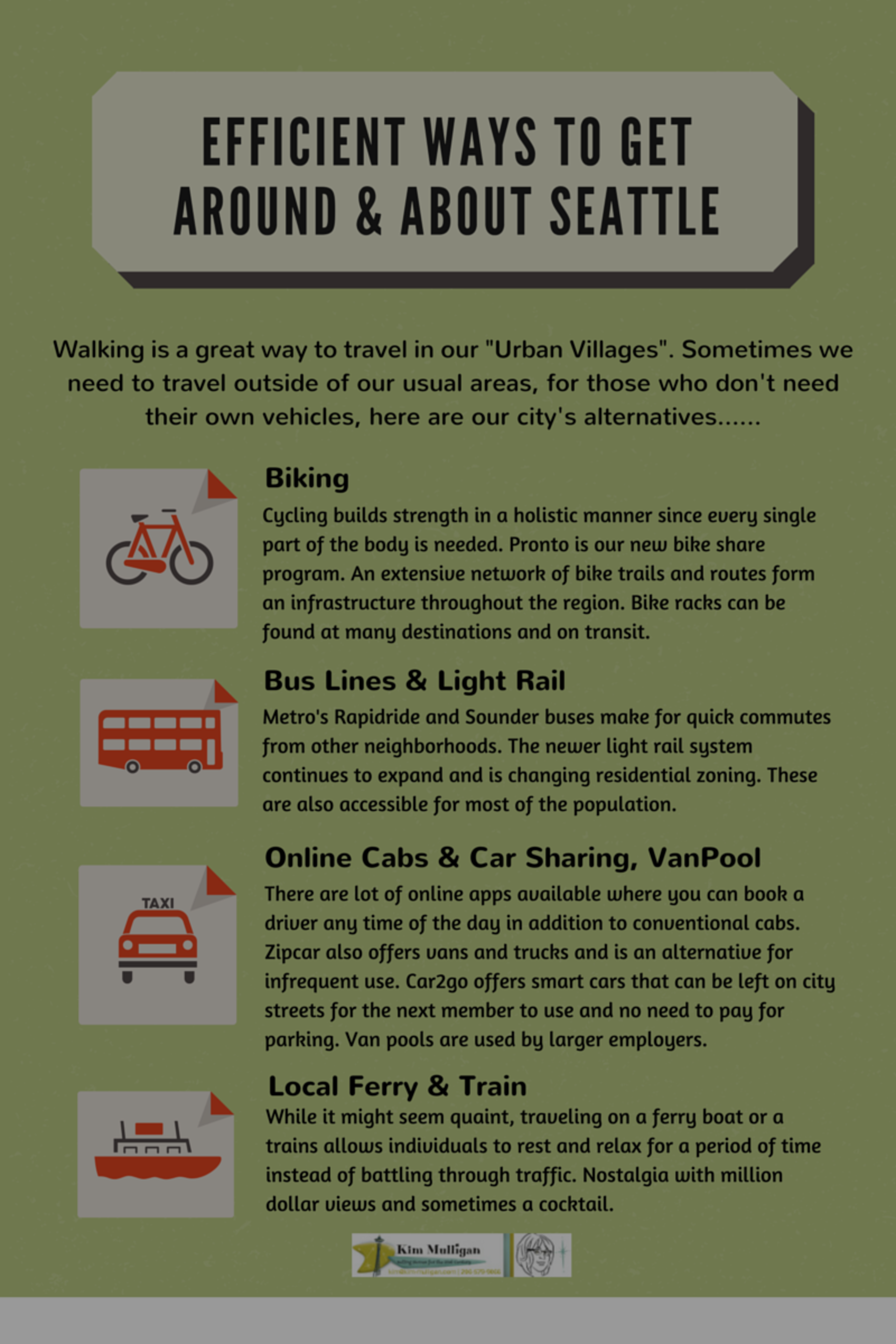 Seattle Regional Public Transportation
