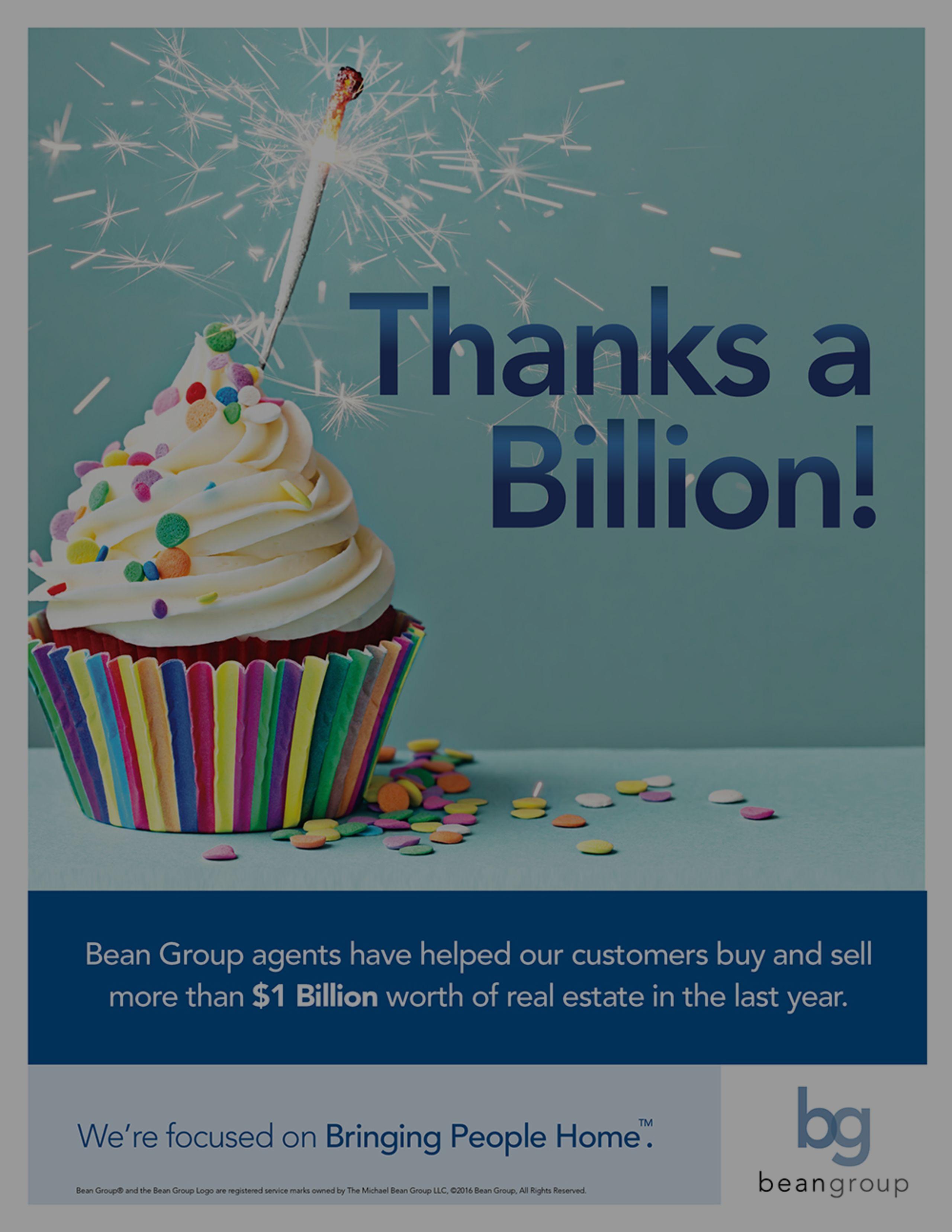 Thanks a Billion!
