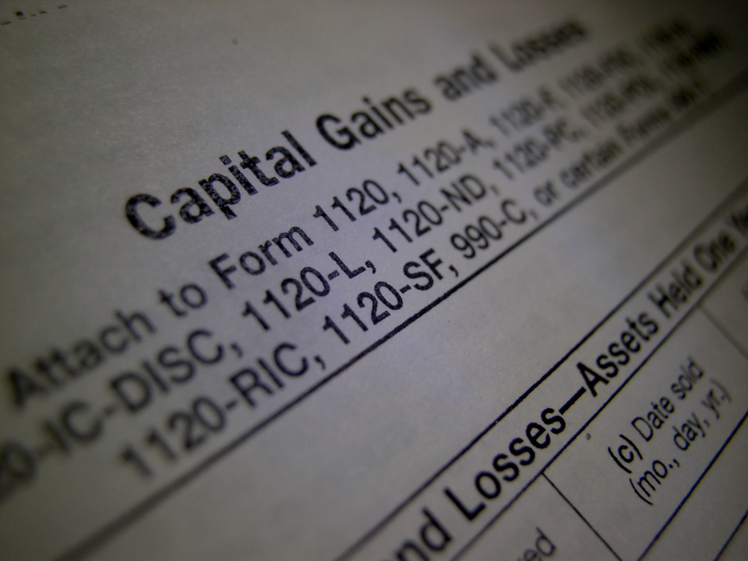 What is Capital Gains and Losses