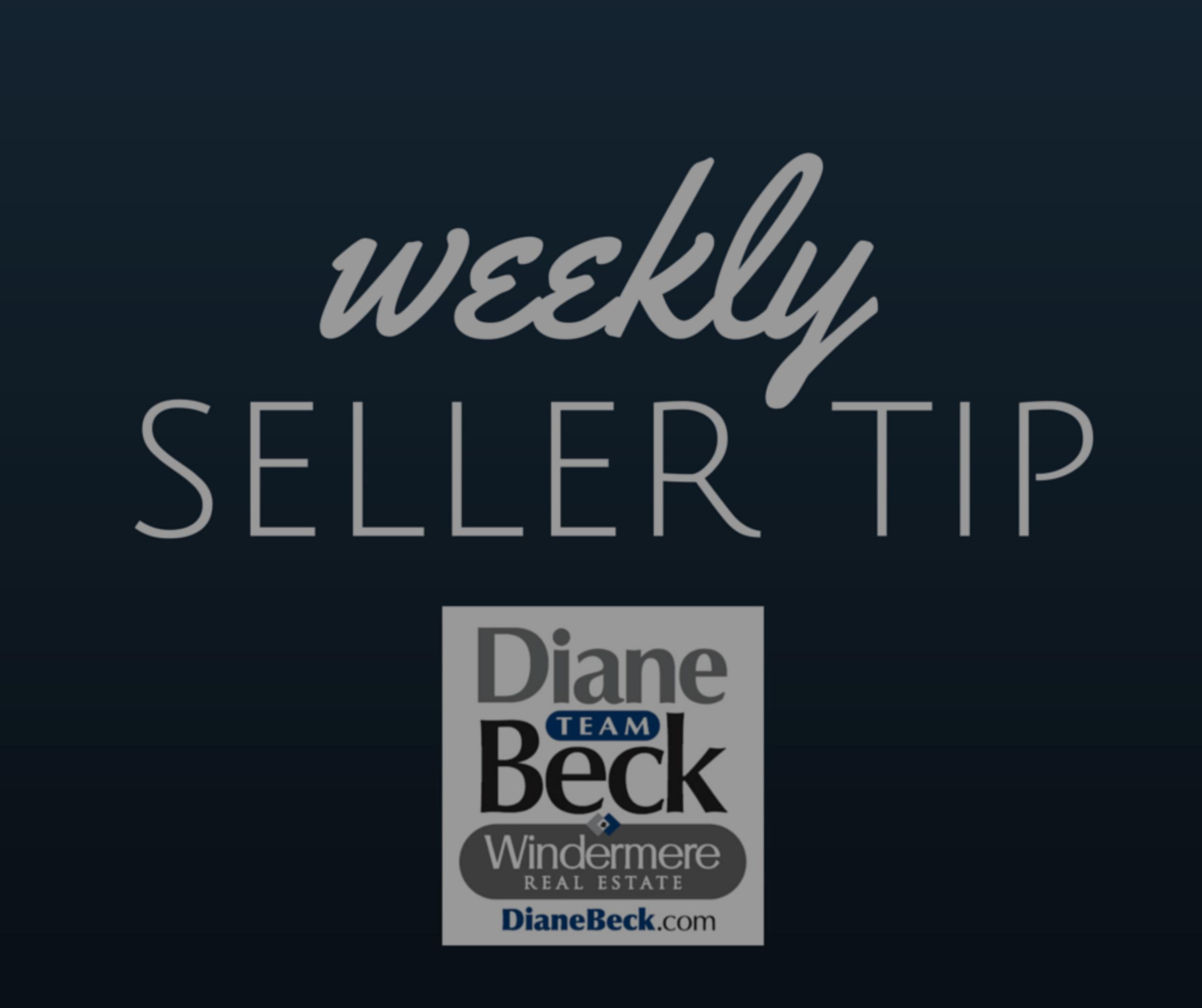 Weekly Tip for Sellers