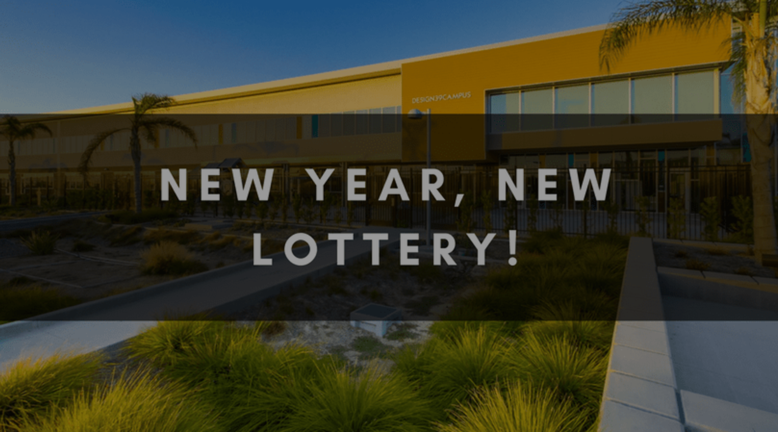 NEW YEAR, NEW LOTTERY!