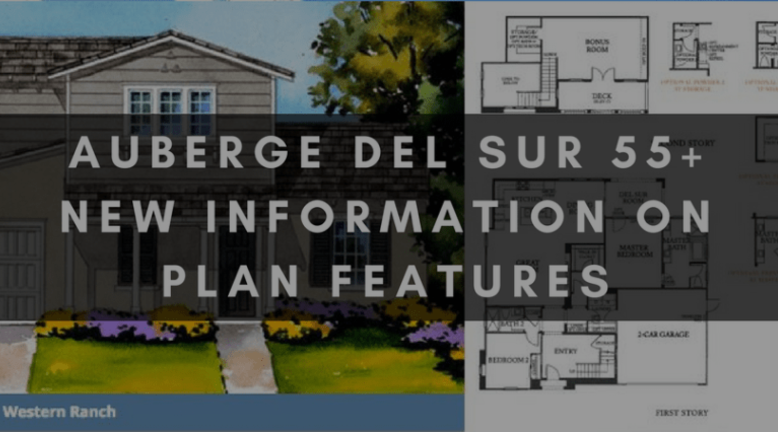 AUBERGE DEL SUR 55+ | NEW INFORMATION ON PLAN FEATURES