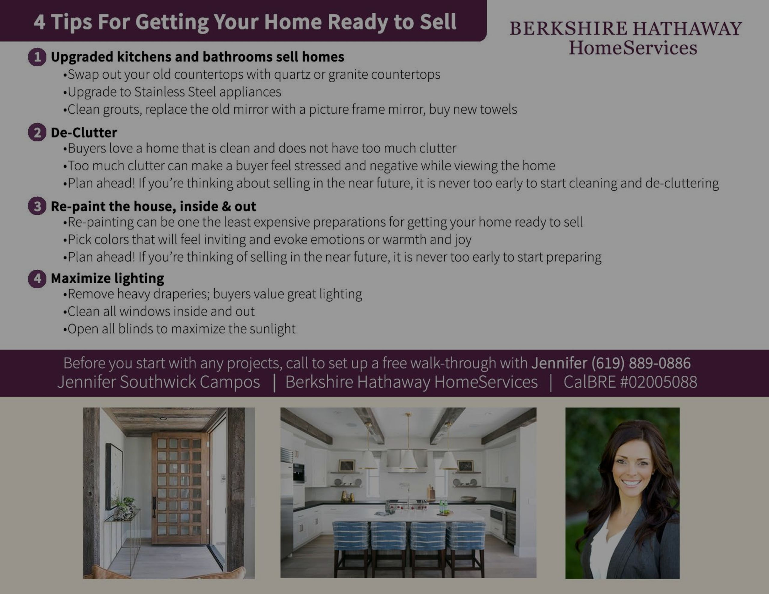 4 Tips to Getting Your Home Ready to Sell