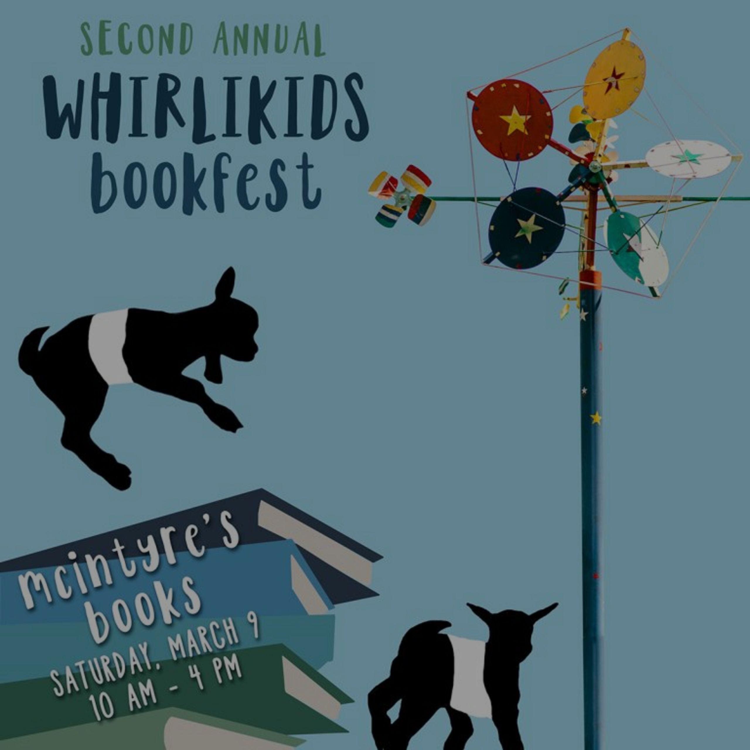 WhirliKids Book Festival – Fearrington Village