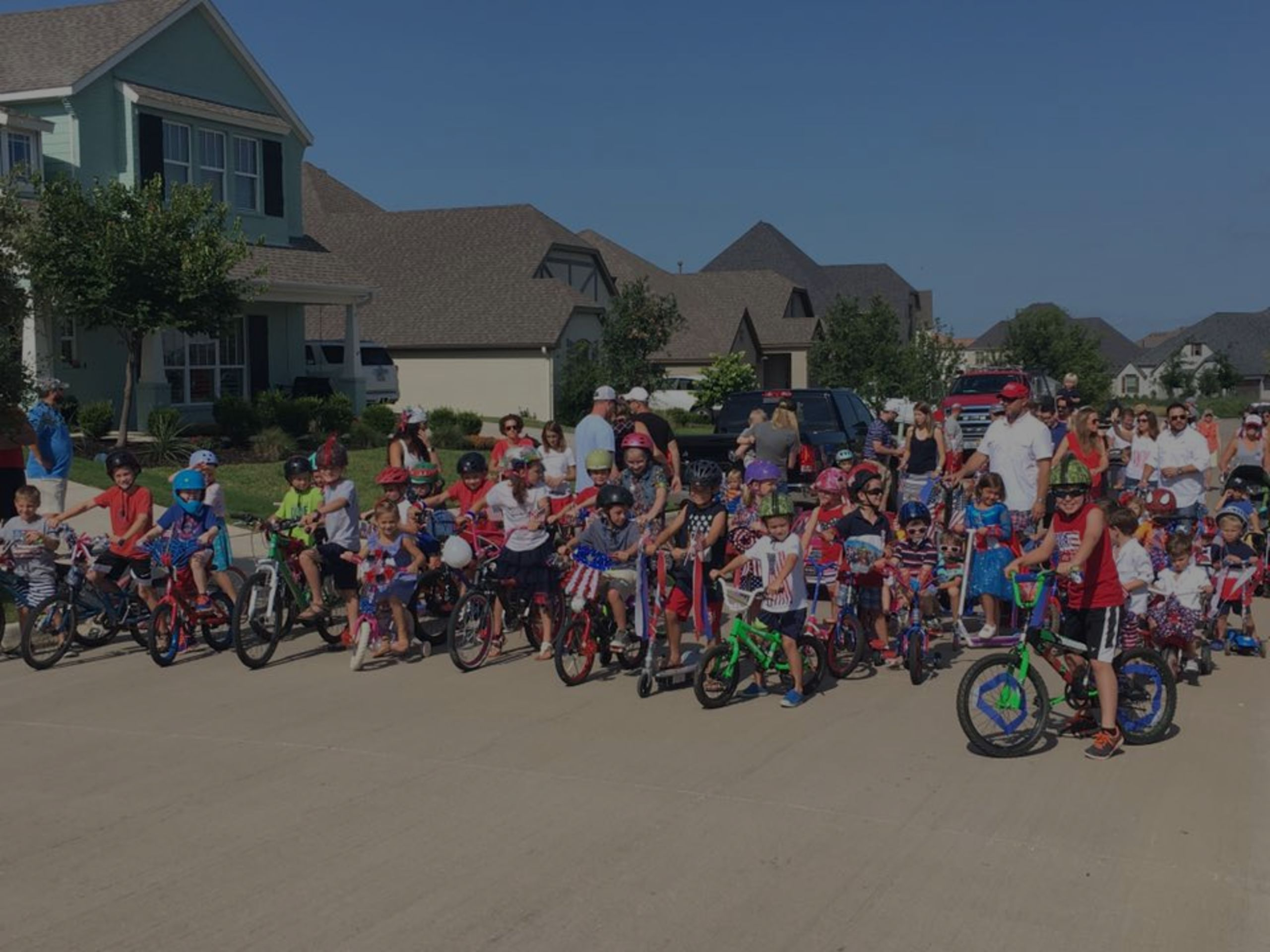 Get outside – ride a bike with your kids!