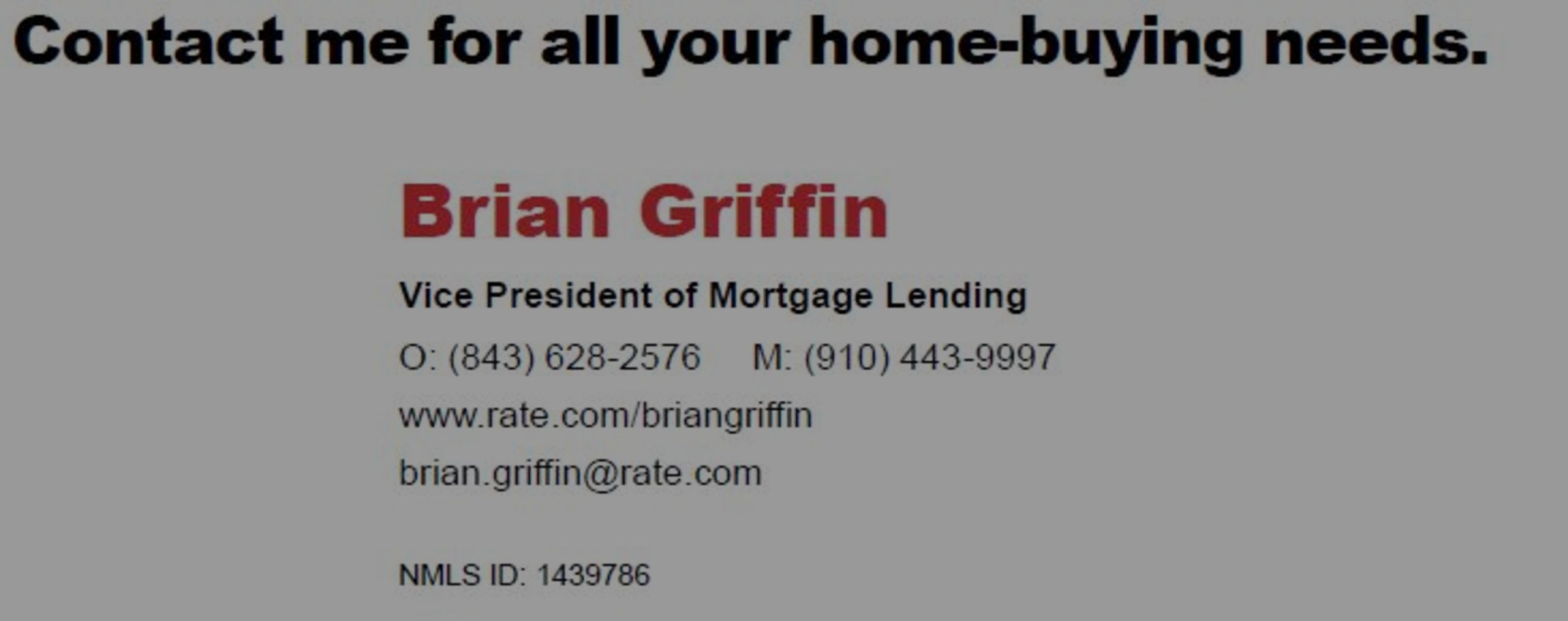 Rate.Com Moves To Myrtle Beach With Brian Griffin