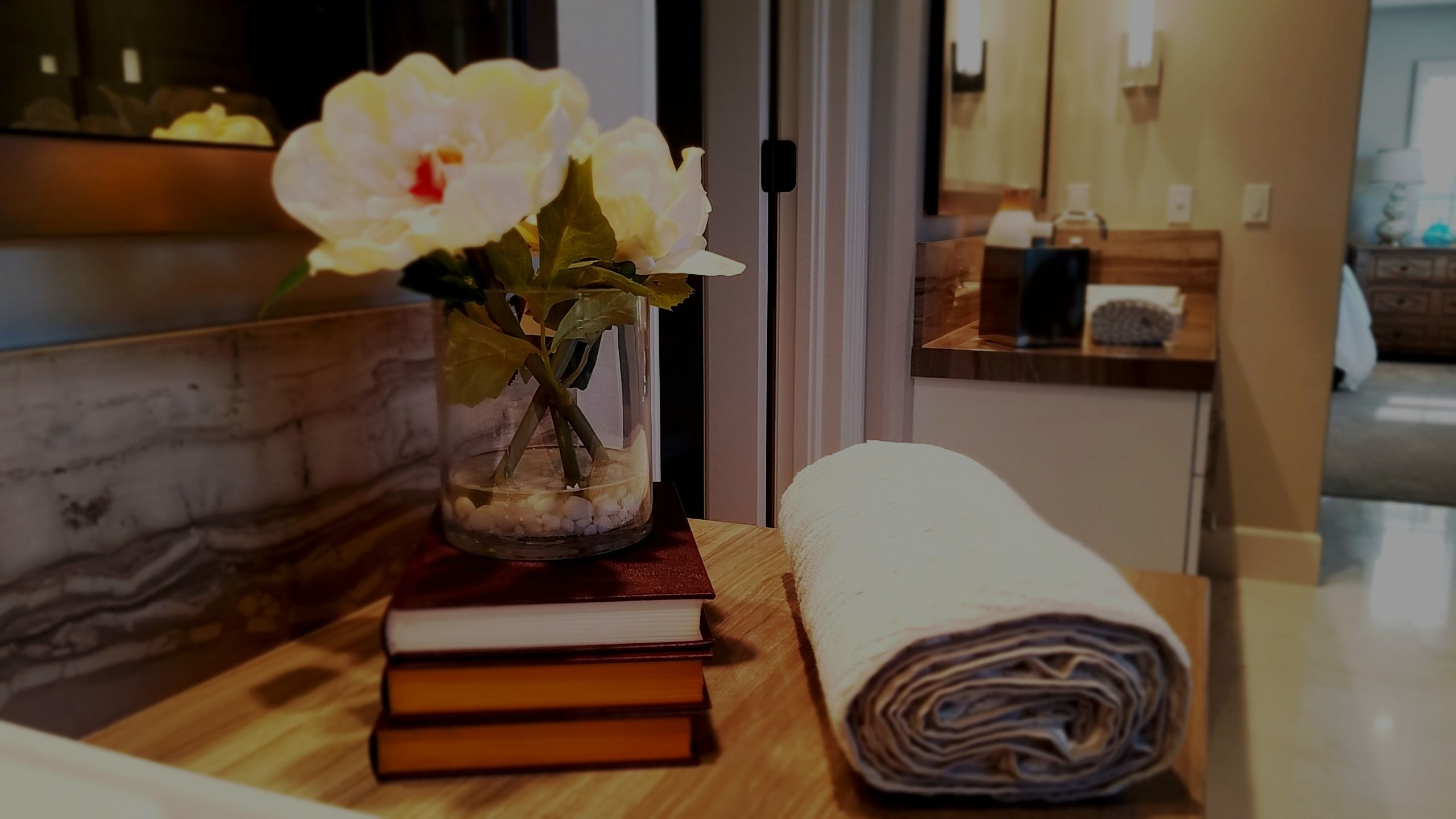 Heated Towel Rack Simple Life Pleasure | Houzz Bruce Clark Orange County Real Estate