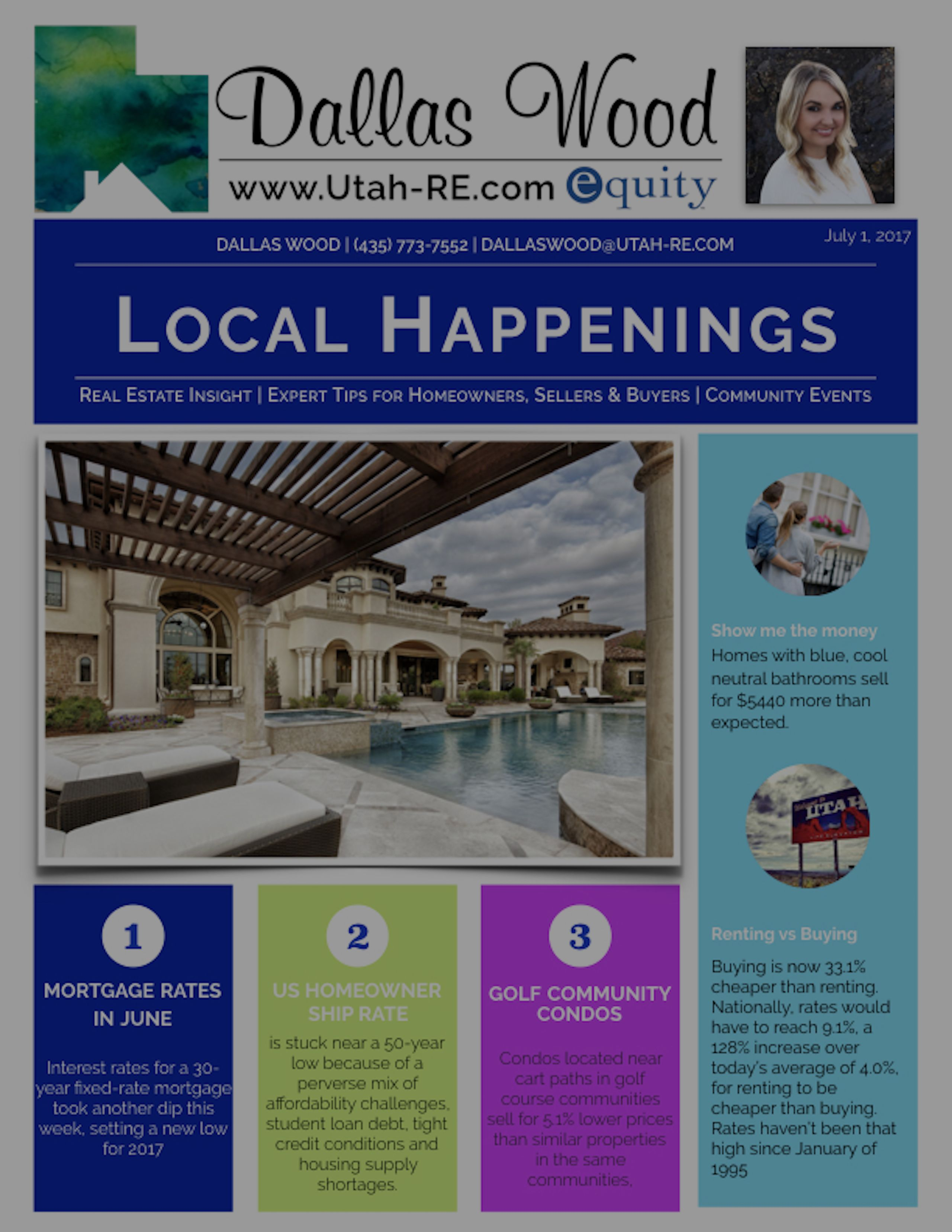 Utah-RE July Newsletter