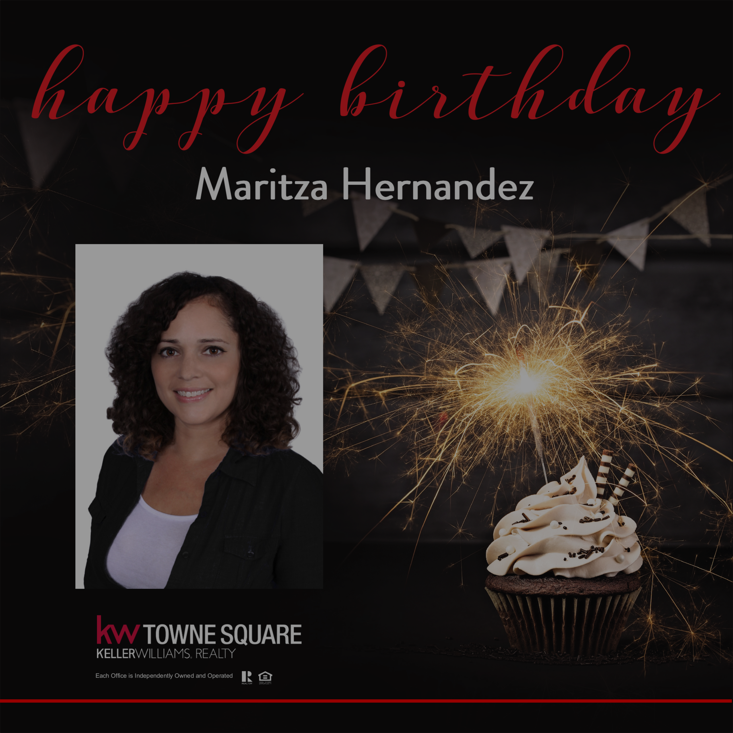 Happy Birthday Maritza!