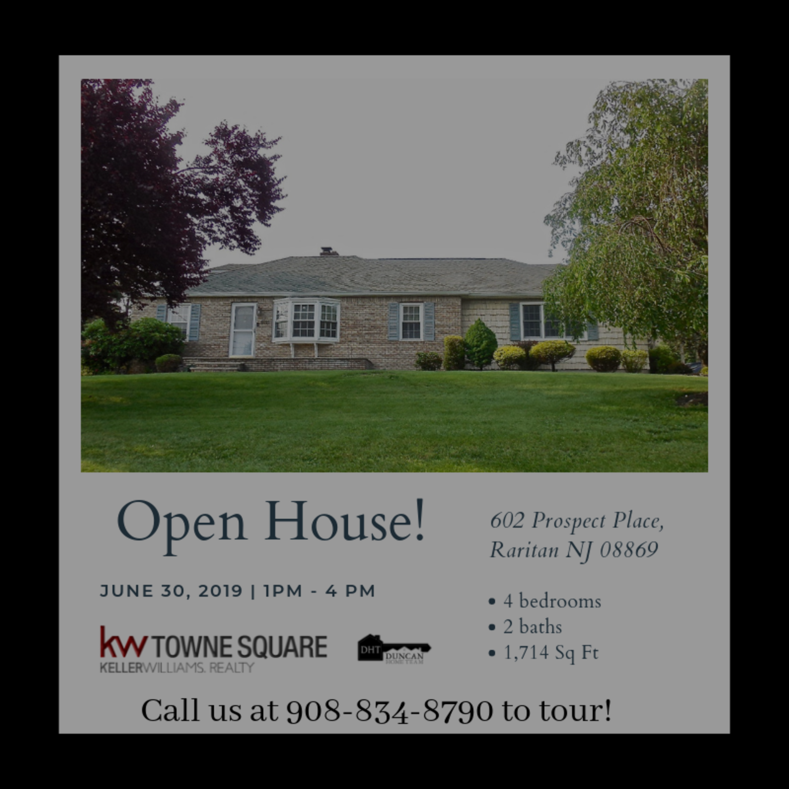 Open House! STOP BY!