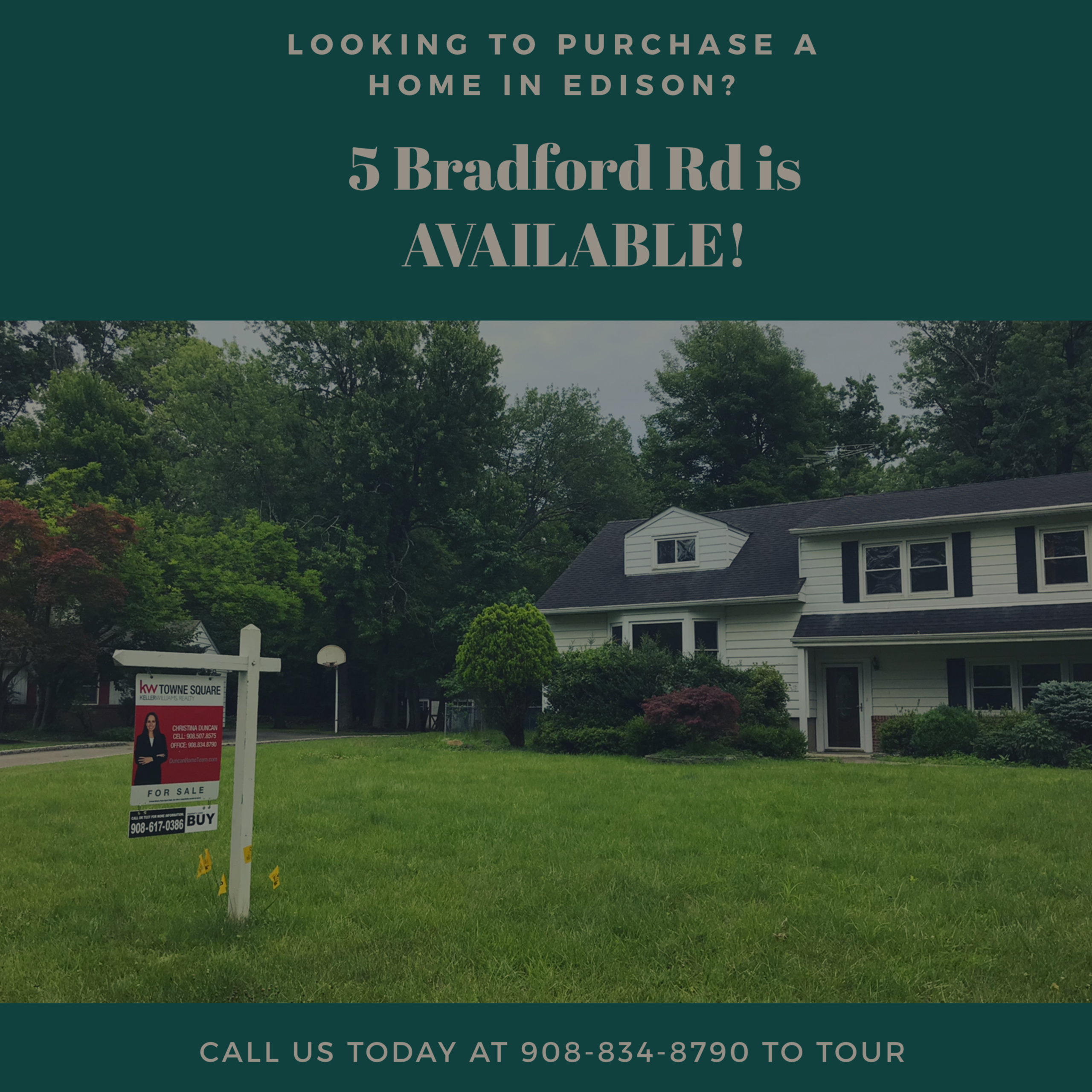 5 Bradford Rd AVAILABLE!