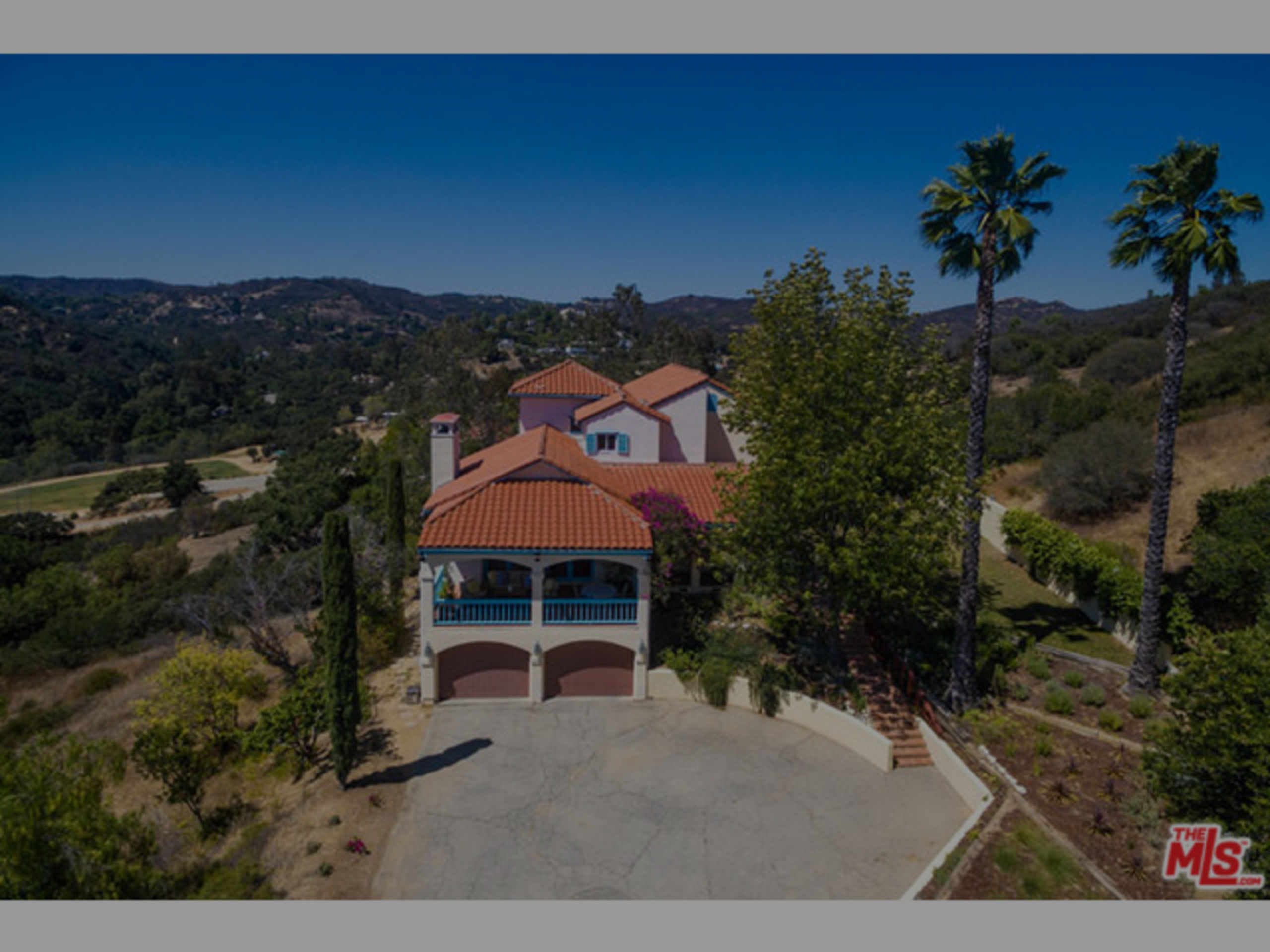 SOLD | TUSCAN ON 2.6 ACRES NEAR TOPANGA STATE PARK | $1,875,000