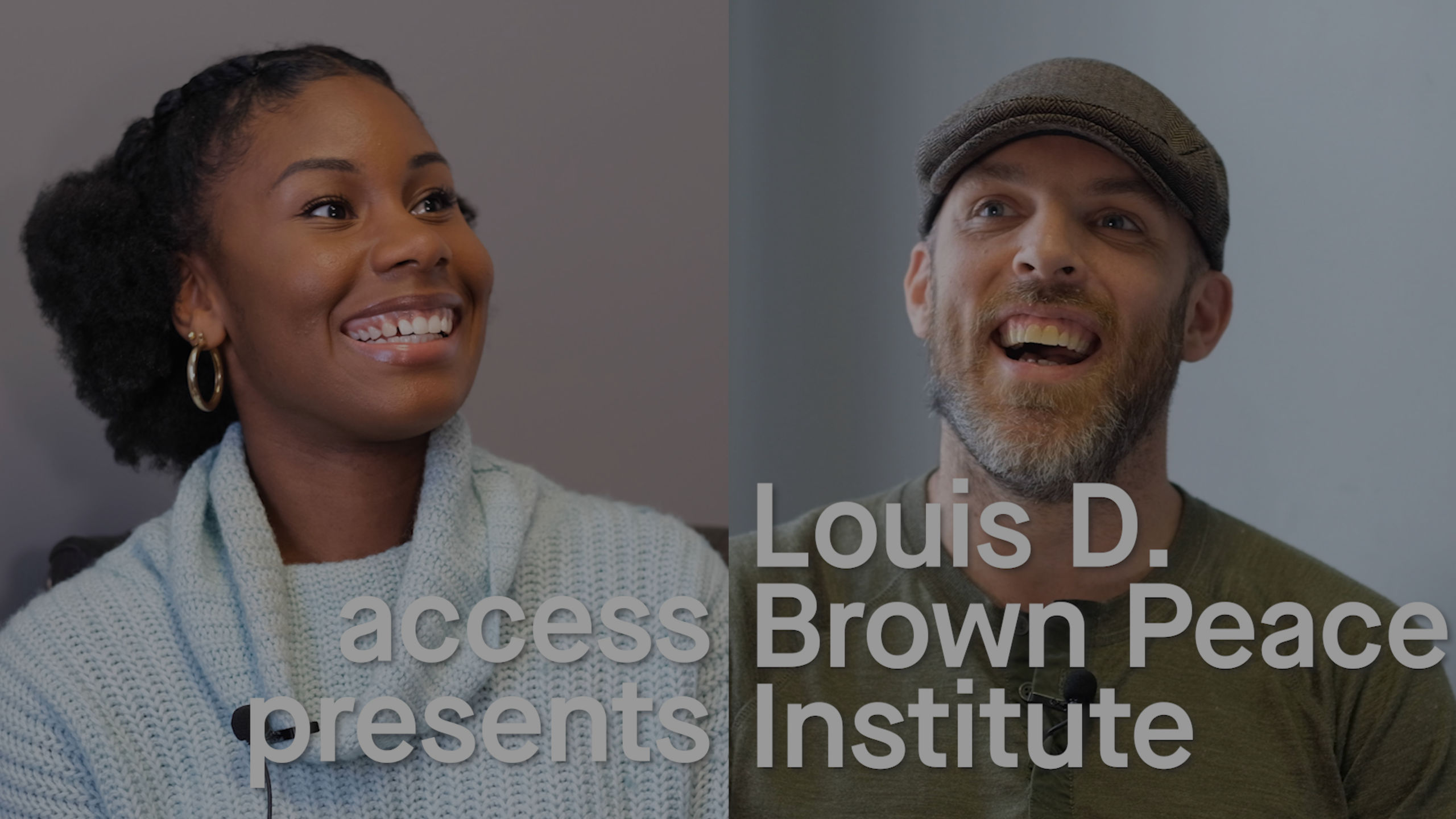 Louis D. Brown Peace Institute Interview