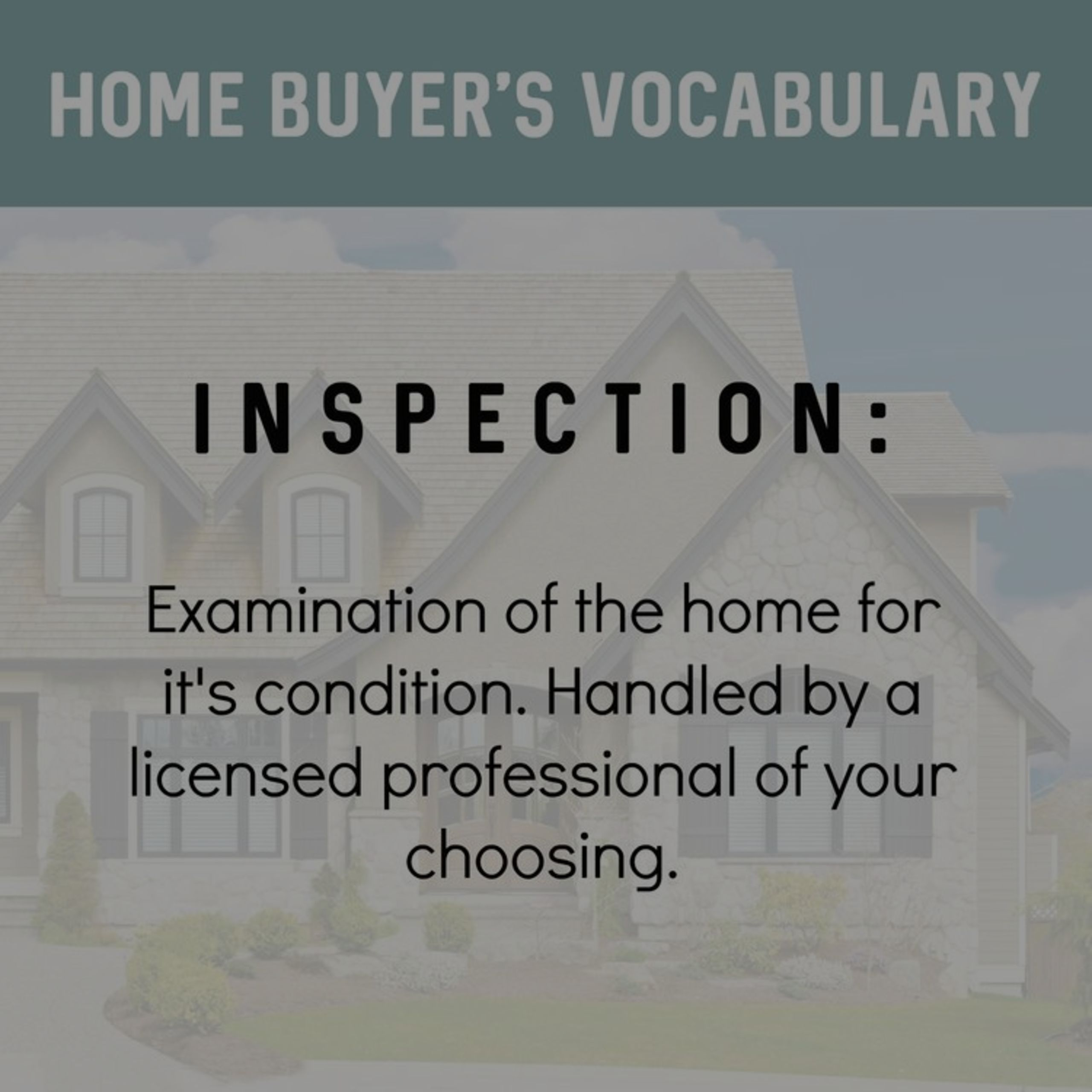 What is an inspection? Do I need one?
