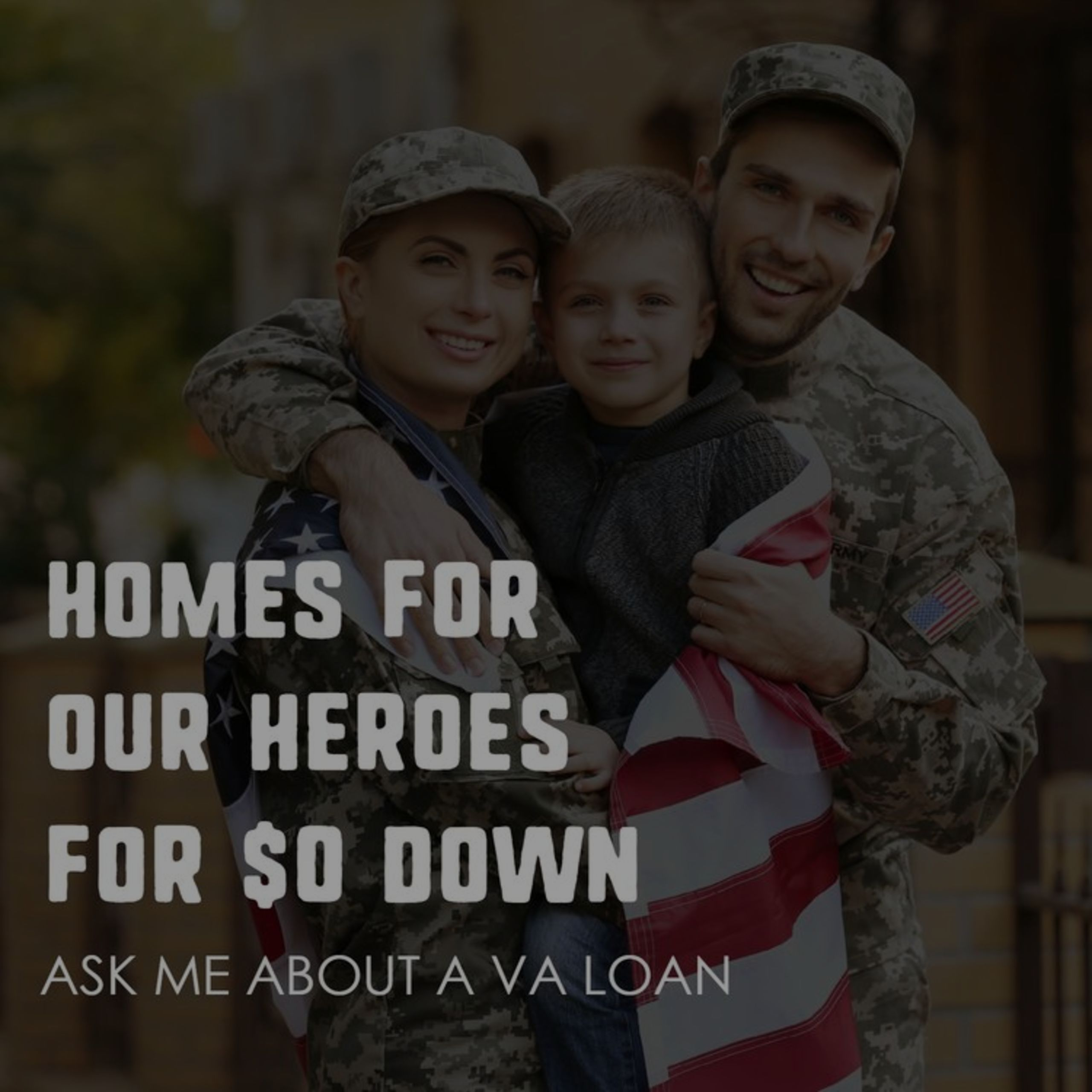 Are you a Veteran? We can help you get into a home with 0 Down