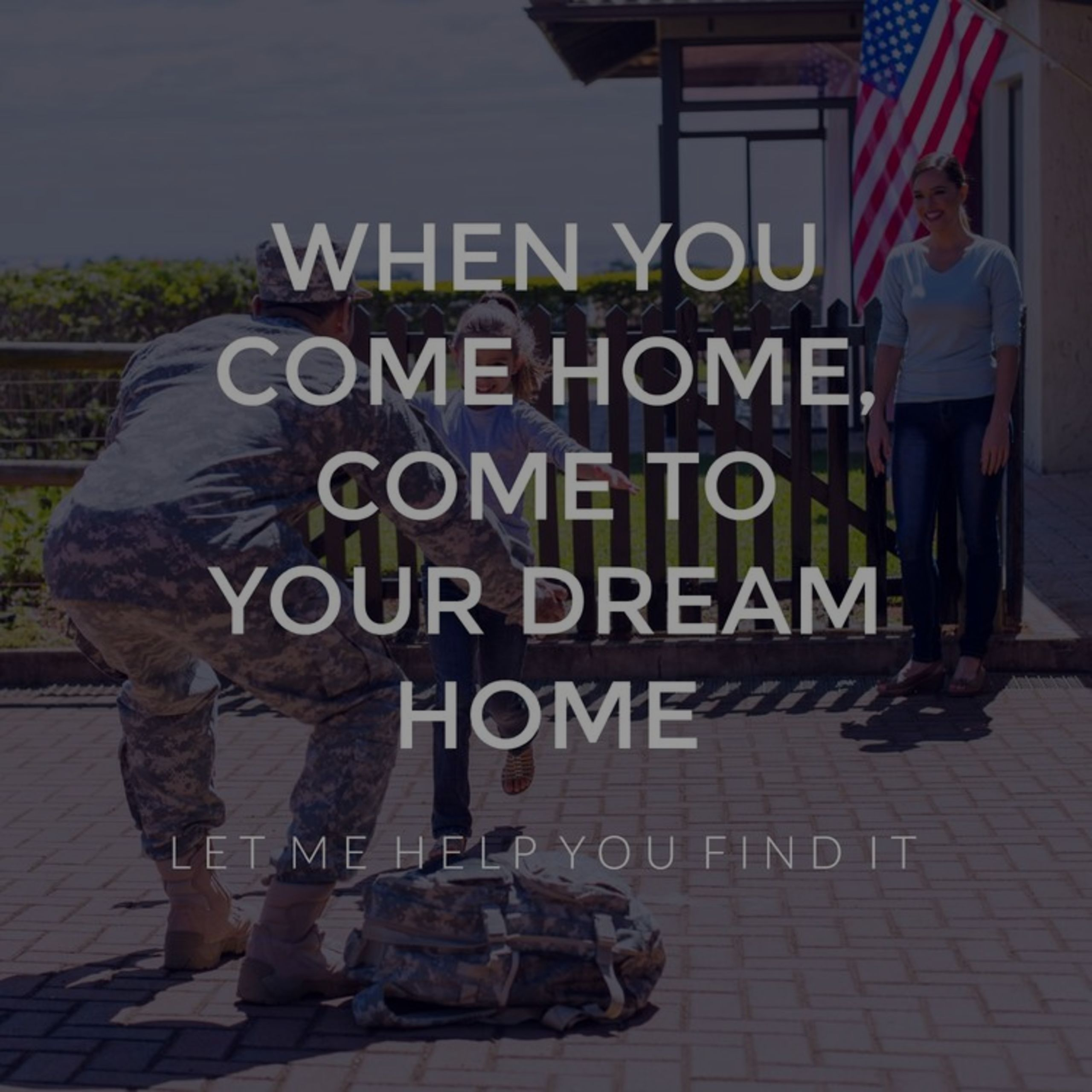 We Love Our Veterans! Let The Rager Group help you find your new home!