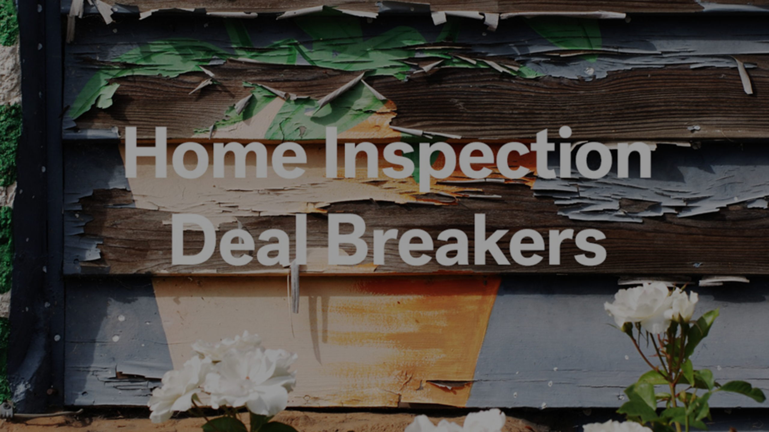 Why You Should Get A Home Inspection Before You List