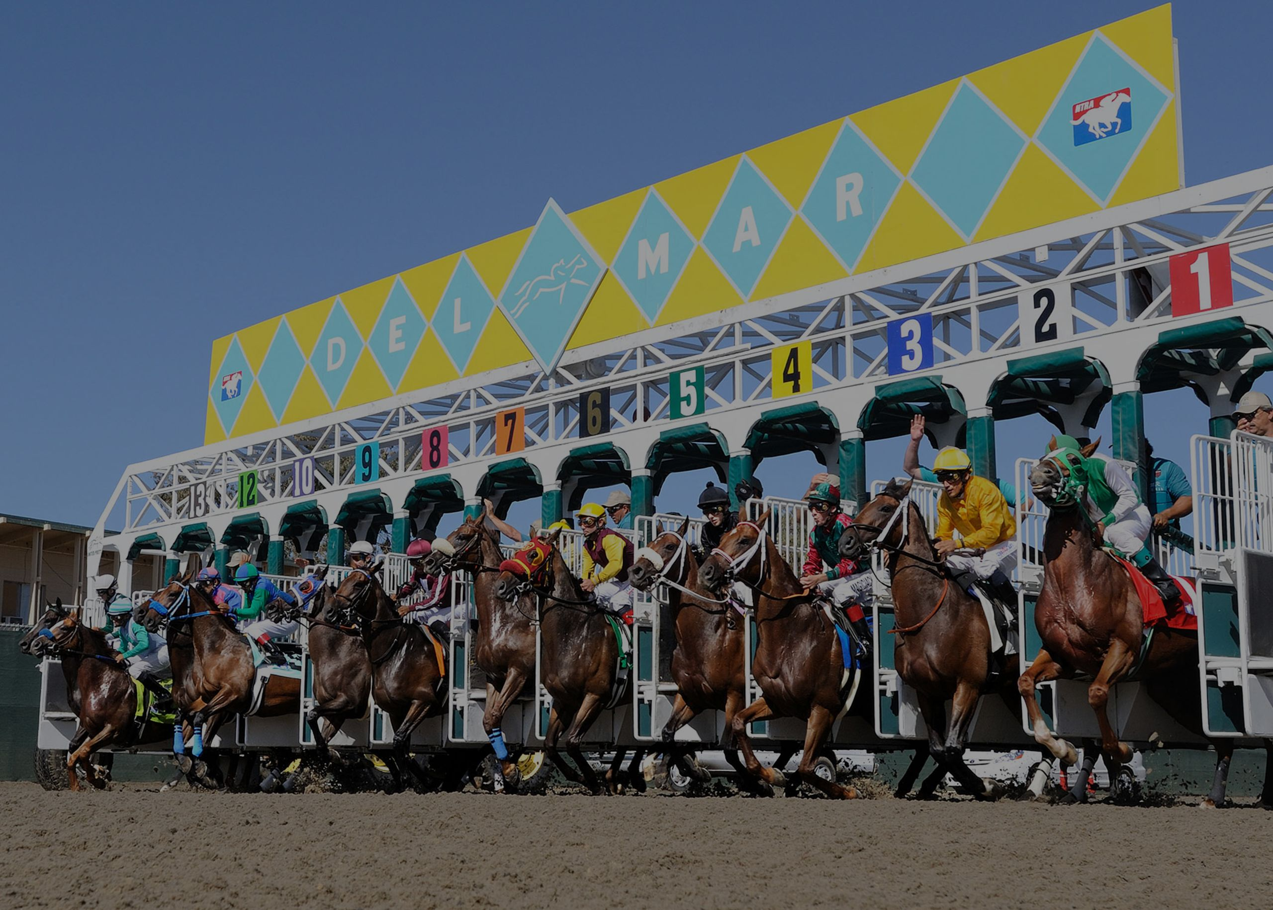 Opening Day in Del Mar