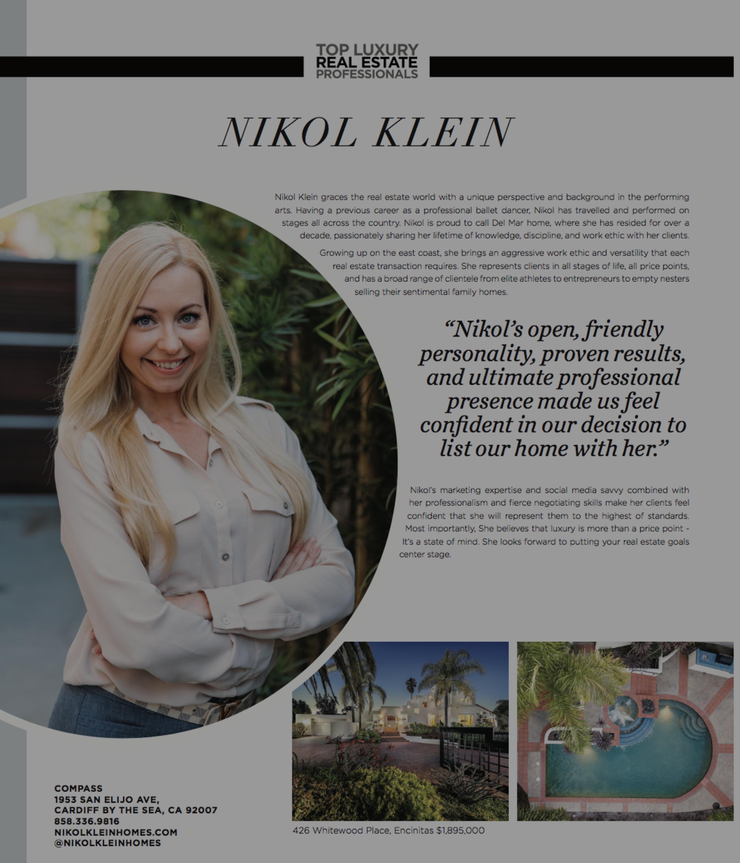 Nikol Klein Modern Luxury Feature