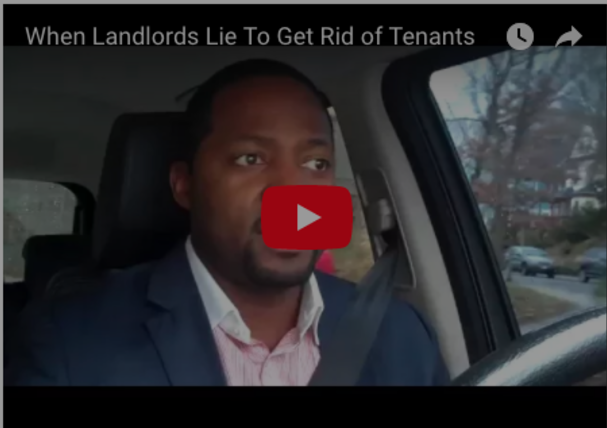 When Landlords Lie To Get Rid of Tenants