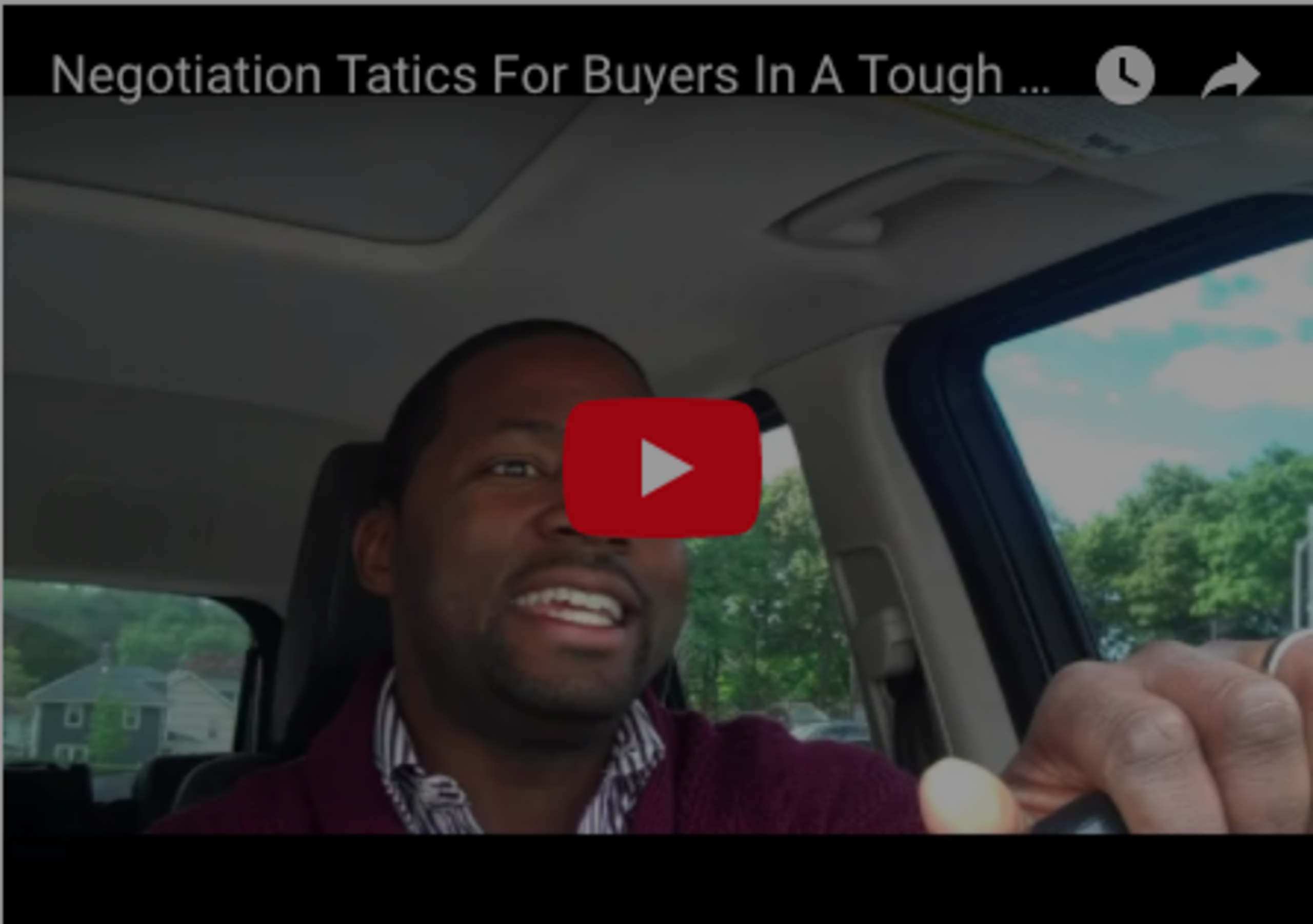 Negotiation Tactics For Buyers In A Tough Sellers Market