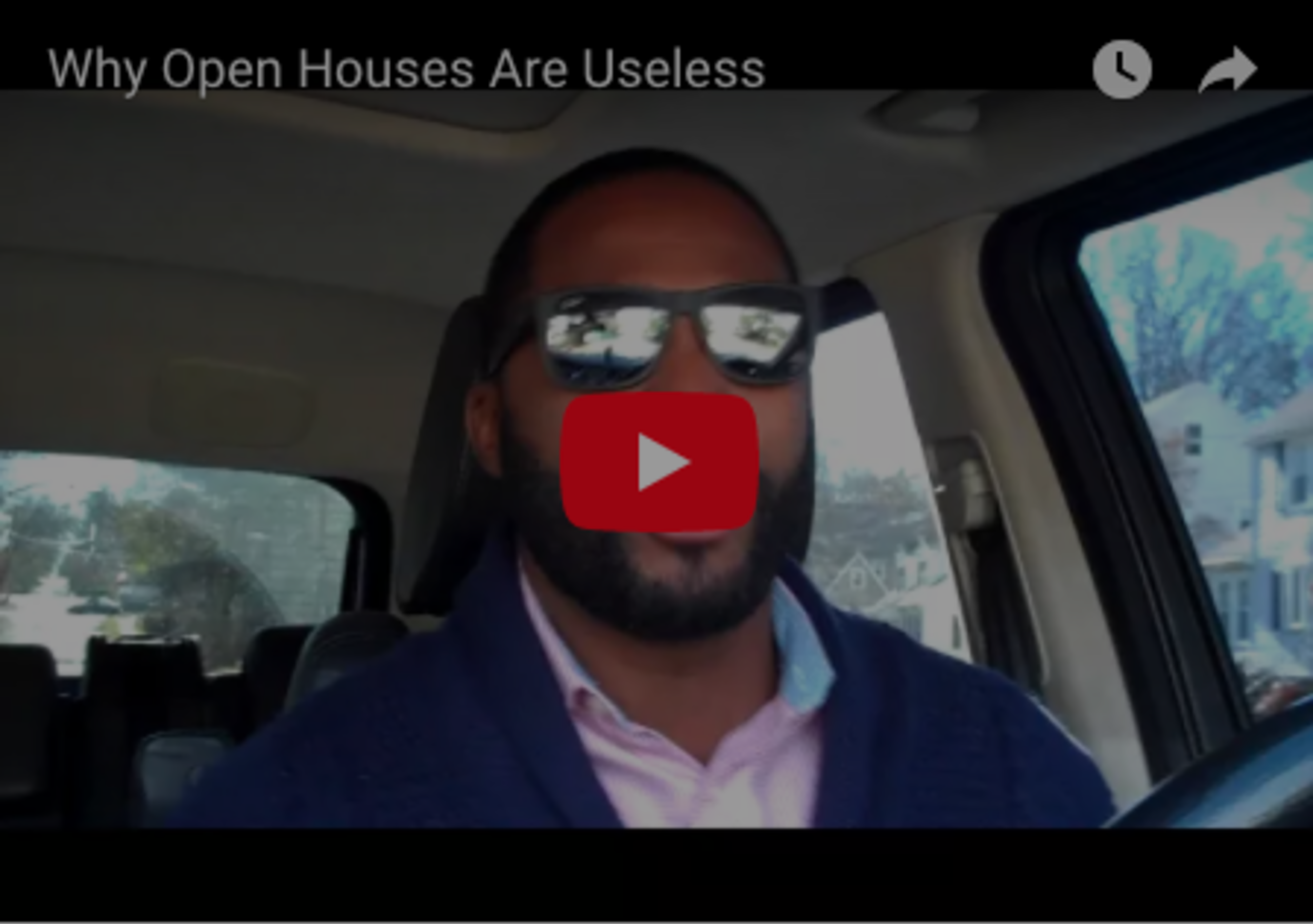 Why Open Houses Are Useless