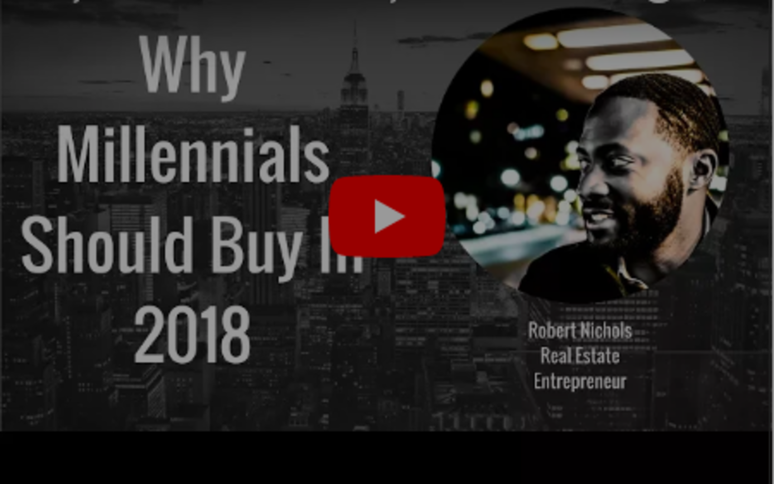 Why Millennials Should Buy A Home In 2018