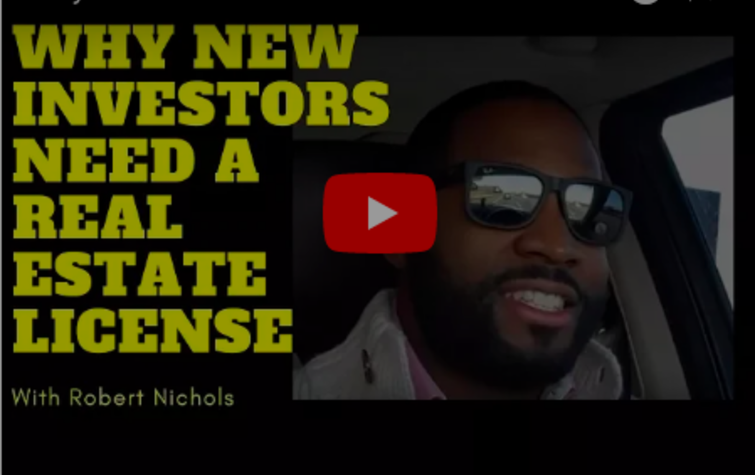 Why New Investors Should Get A Real Estate License