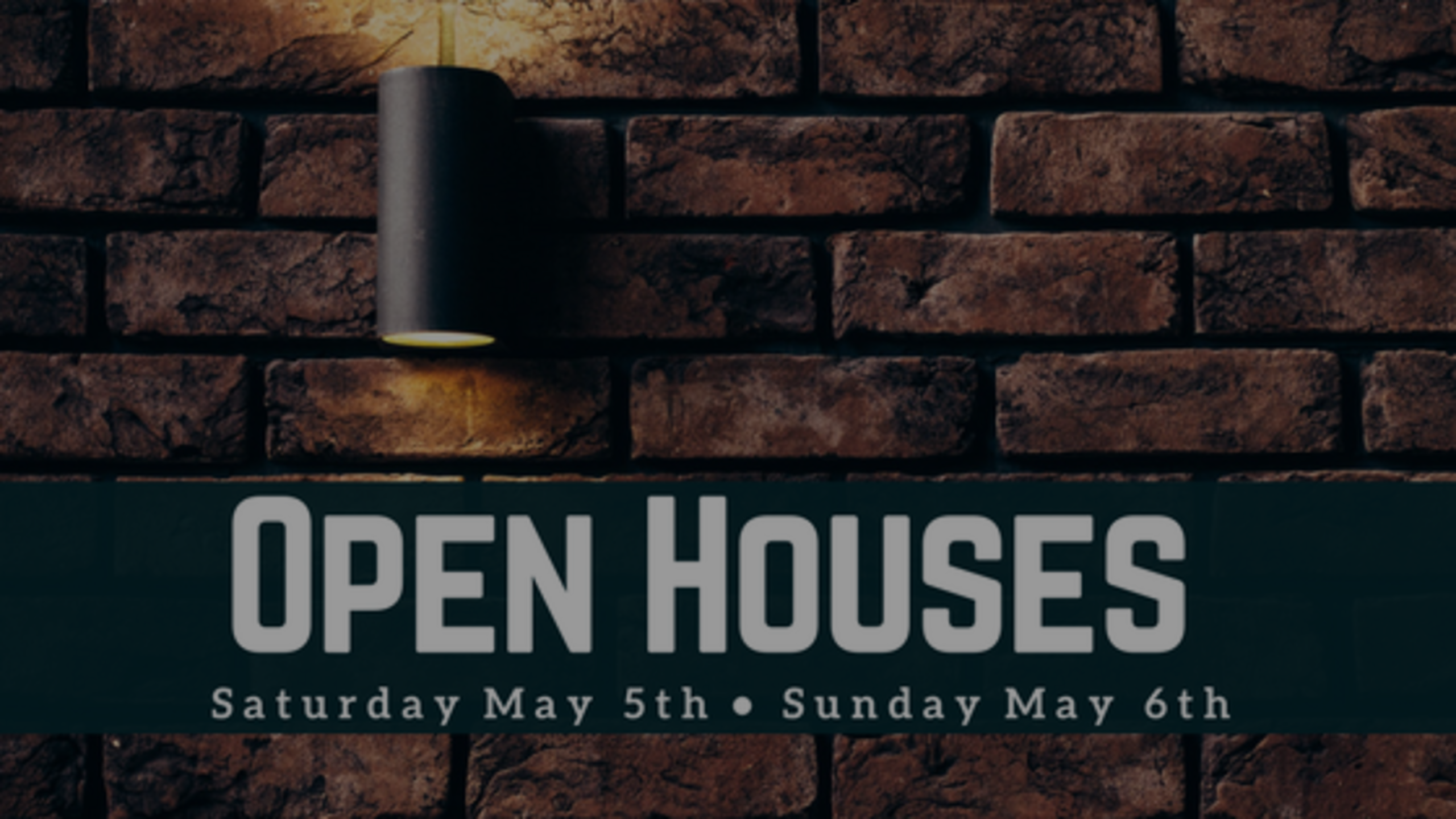 Our Open Houses: Weekend of 5/5 + 5/6