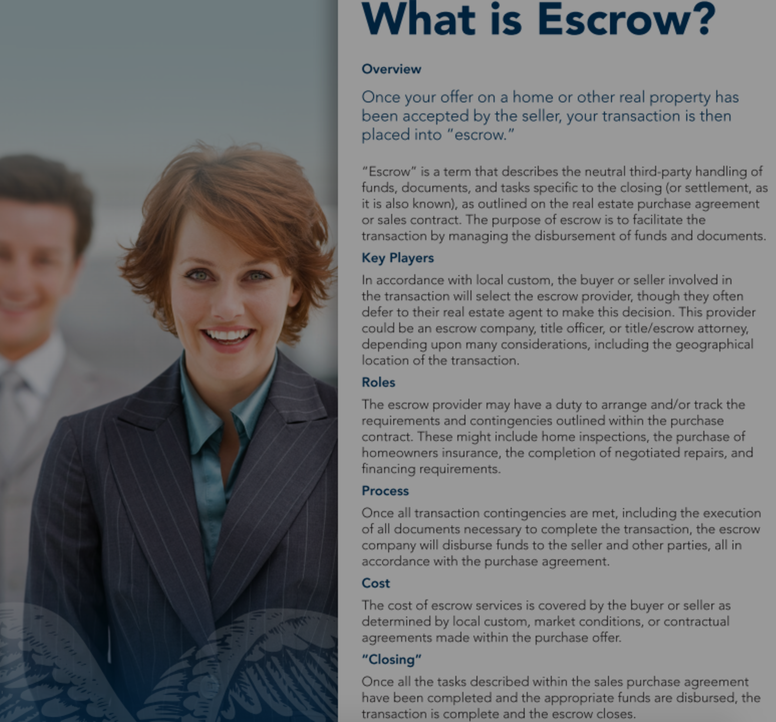 What is an Escrow?