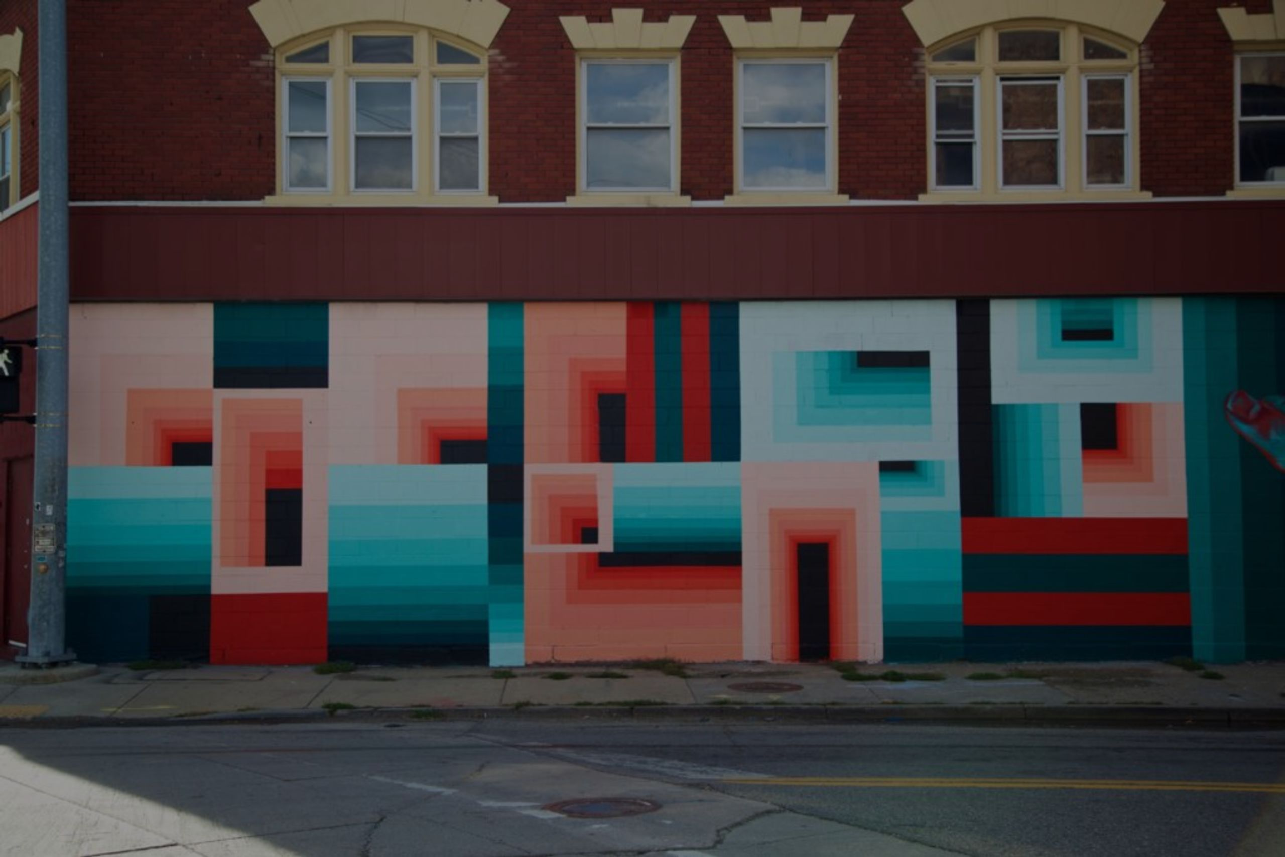 40+ new murals created over 10 days in Detroit's Eastern Market district (Via 1XRUN)
